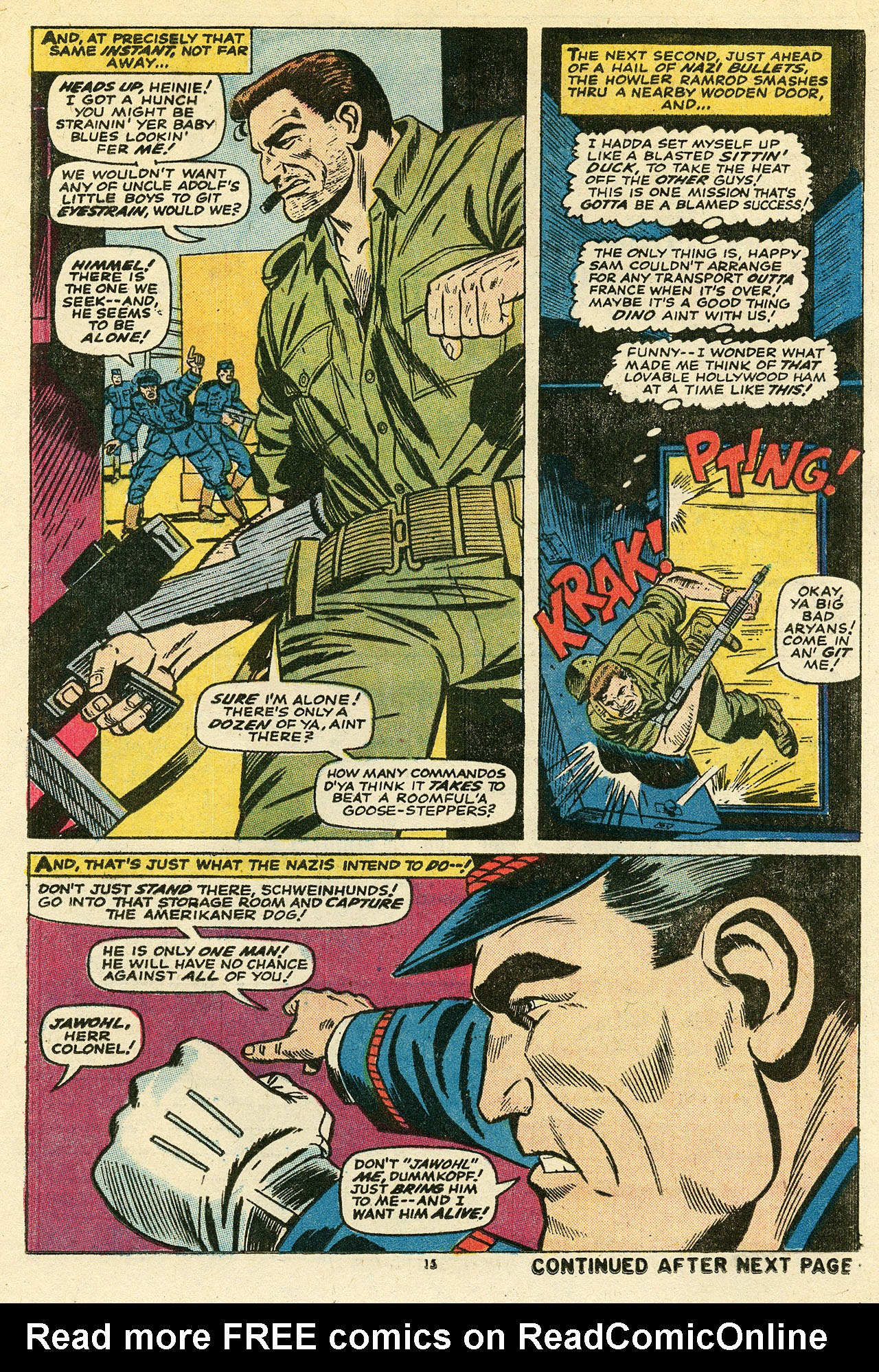 Read online Sgt. Fury comic -  Issue #111 - 17