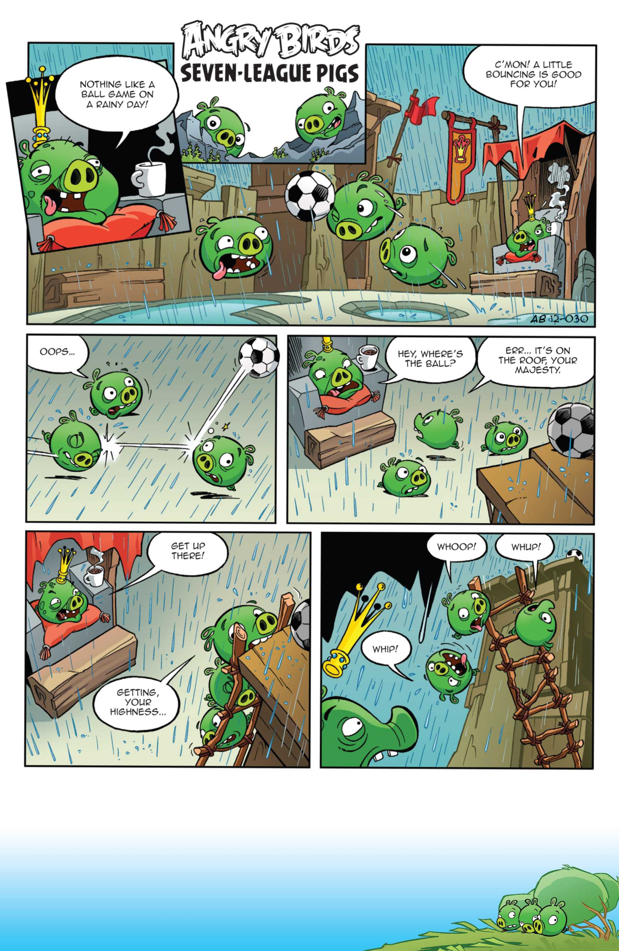 Read online Angry Birds Comics (2014) comic -  Issue #9 - 3