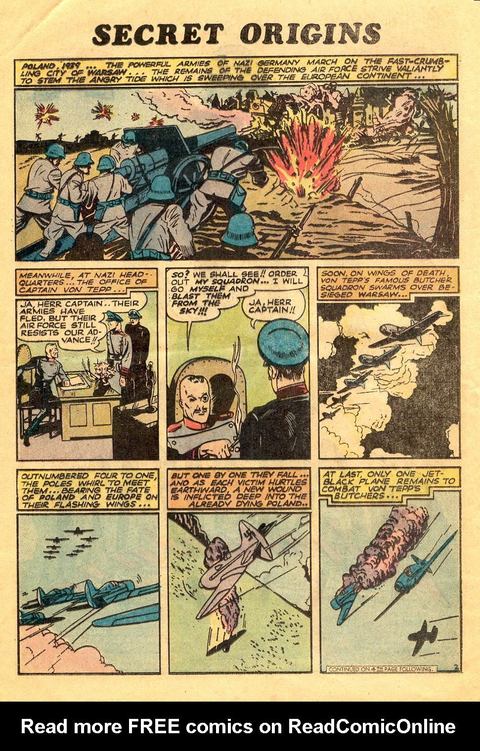 Read online Secret Origins (1973) comic -  Issue #6 - 16