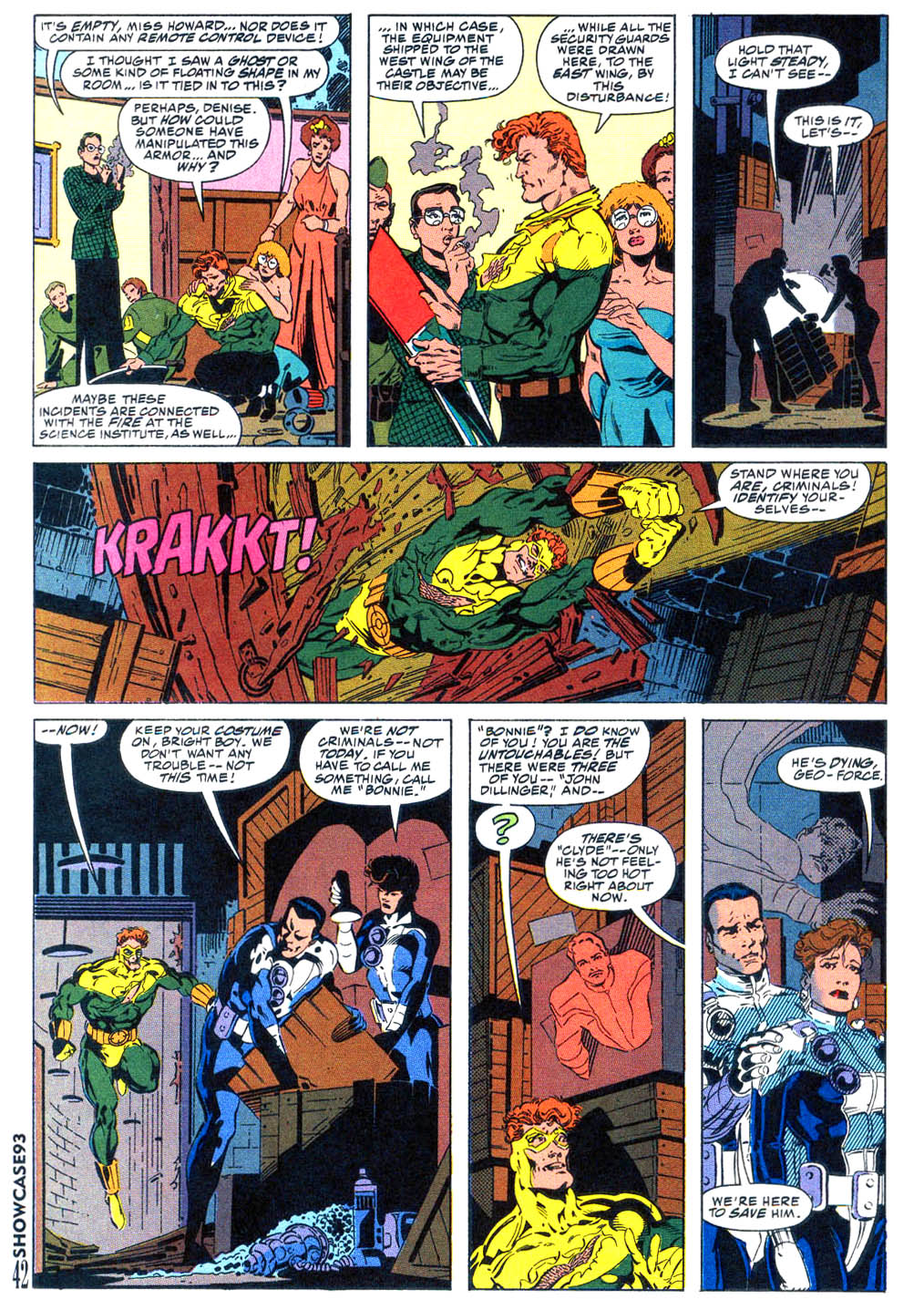 Read online Showcase '93 comic -  Issue #4 - 37