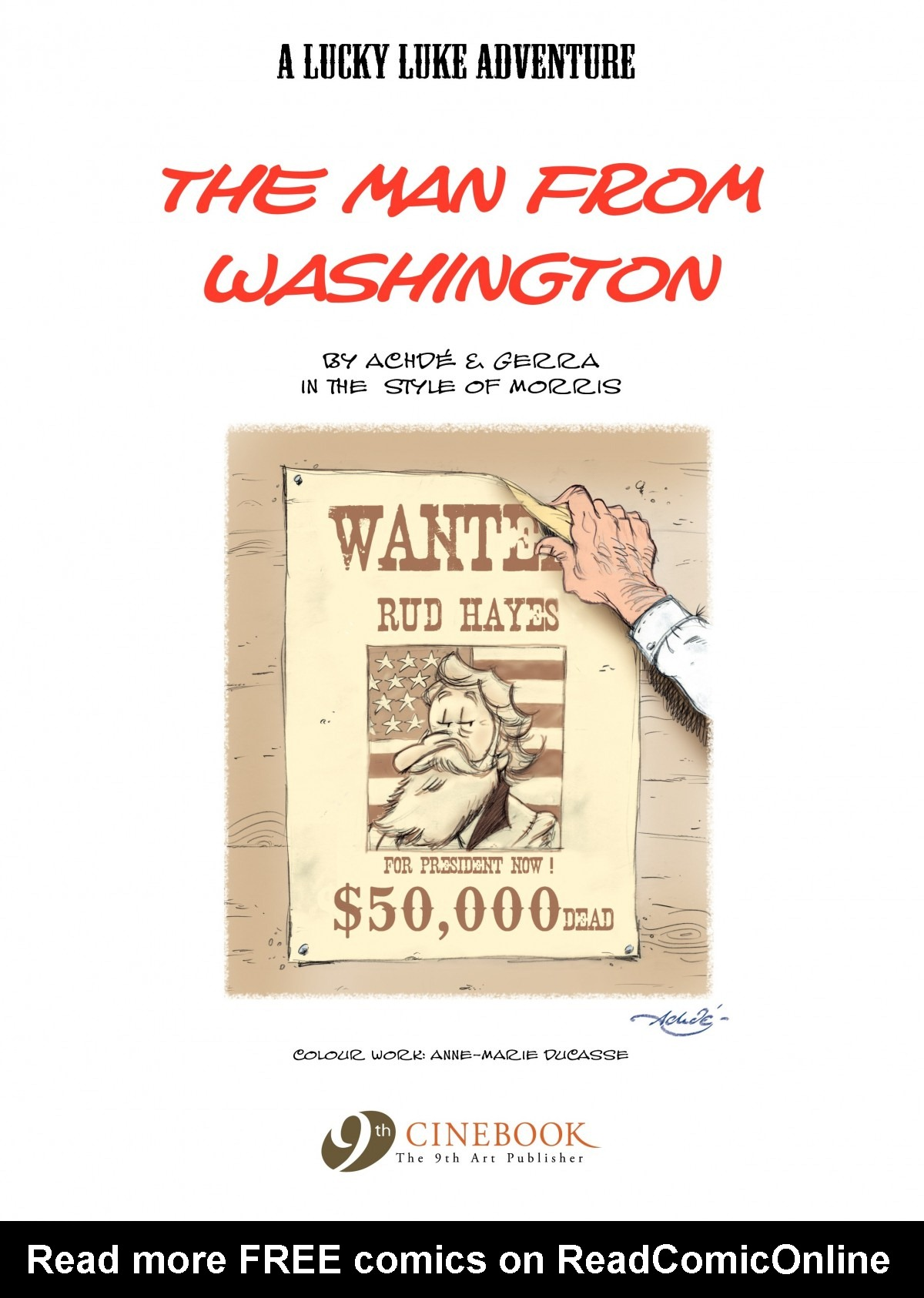 Read online A Lucky Luke Adventure comic -  Issue #39 - 2