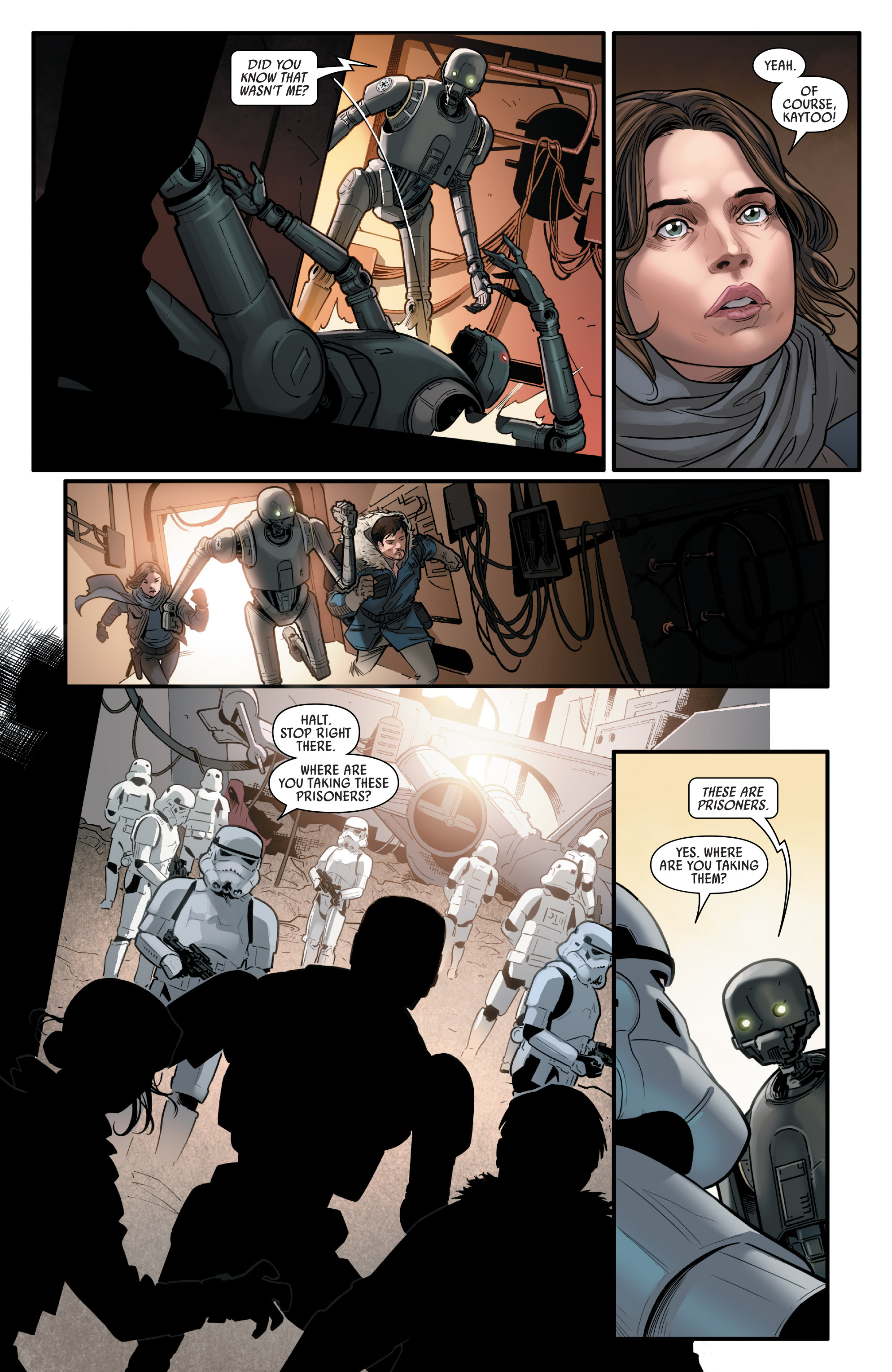 Read online Star Wars: Rogue One Adaptation comic -  Issue #2 - 11