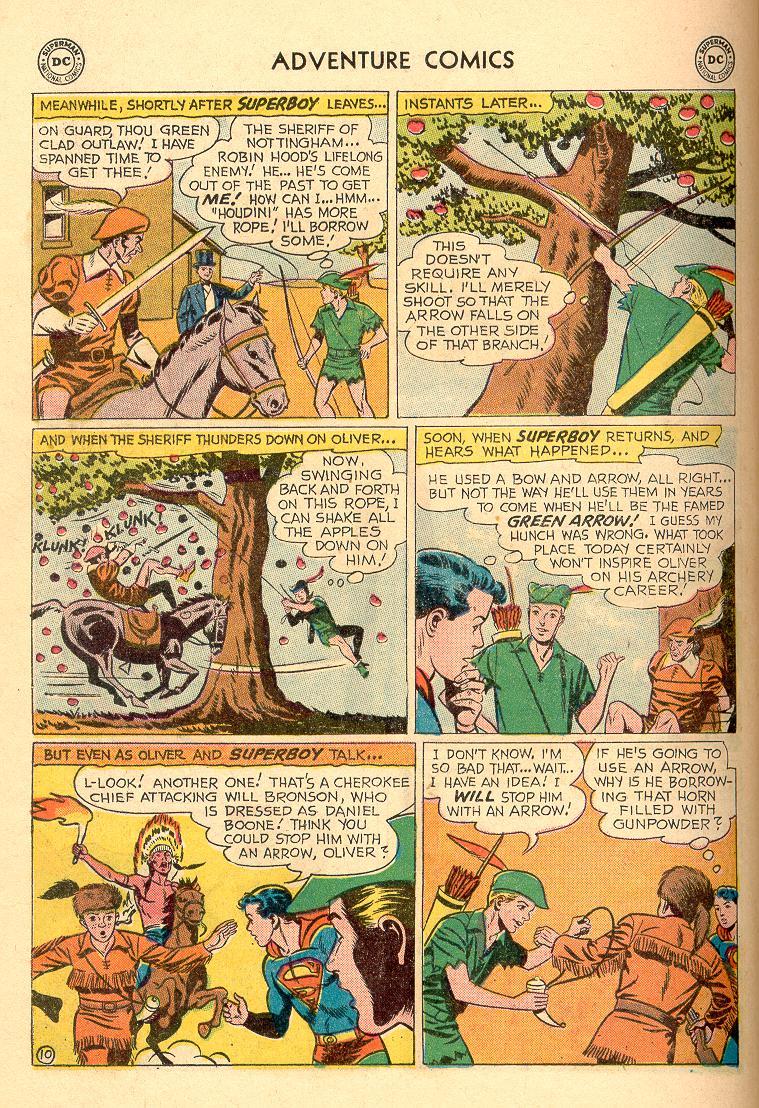 Read online Adventure Comics (1938) comic -  Issue #258 - 12