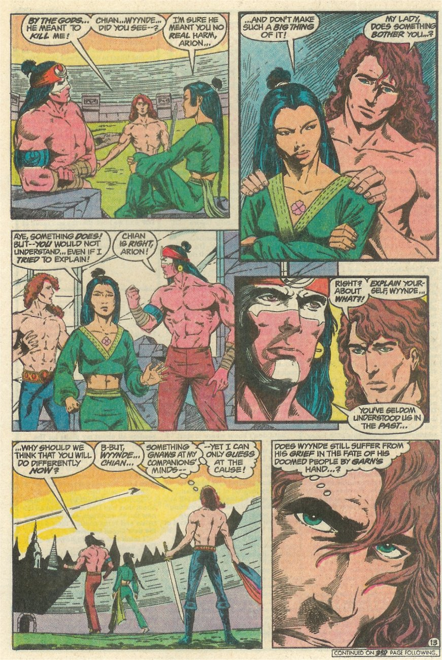 Read online Arion, Lord of Atlantis comic -  Issue #23 - 14