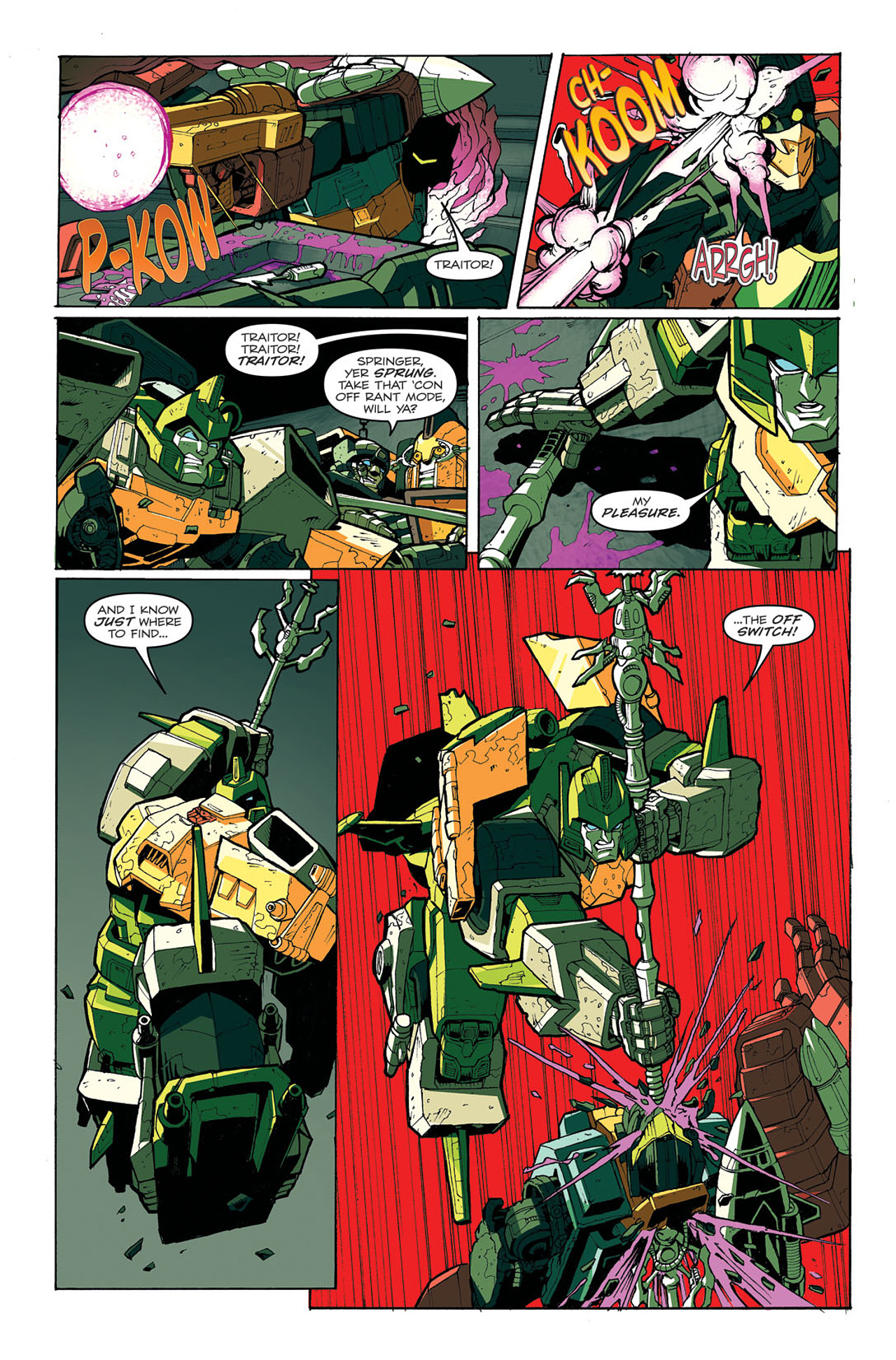 Read online Transformers: Last Stand of The Wreckers comic -  Issue #4 - 22