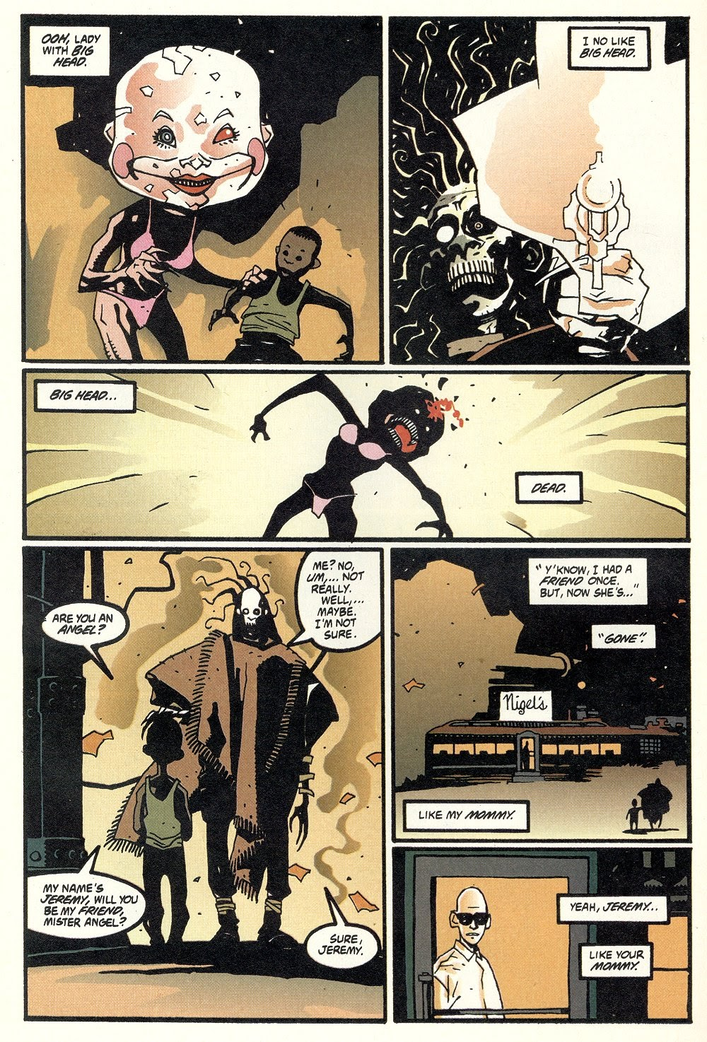 Read online Ted McKeever's Metropol comic -  Issue #11 - 30