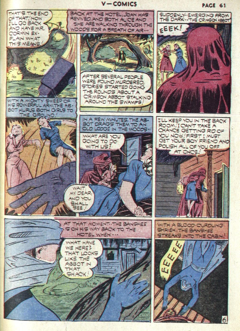 Read online V...- Comics comic -  Issue #1 - 62