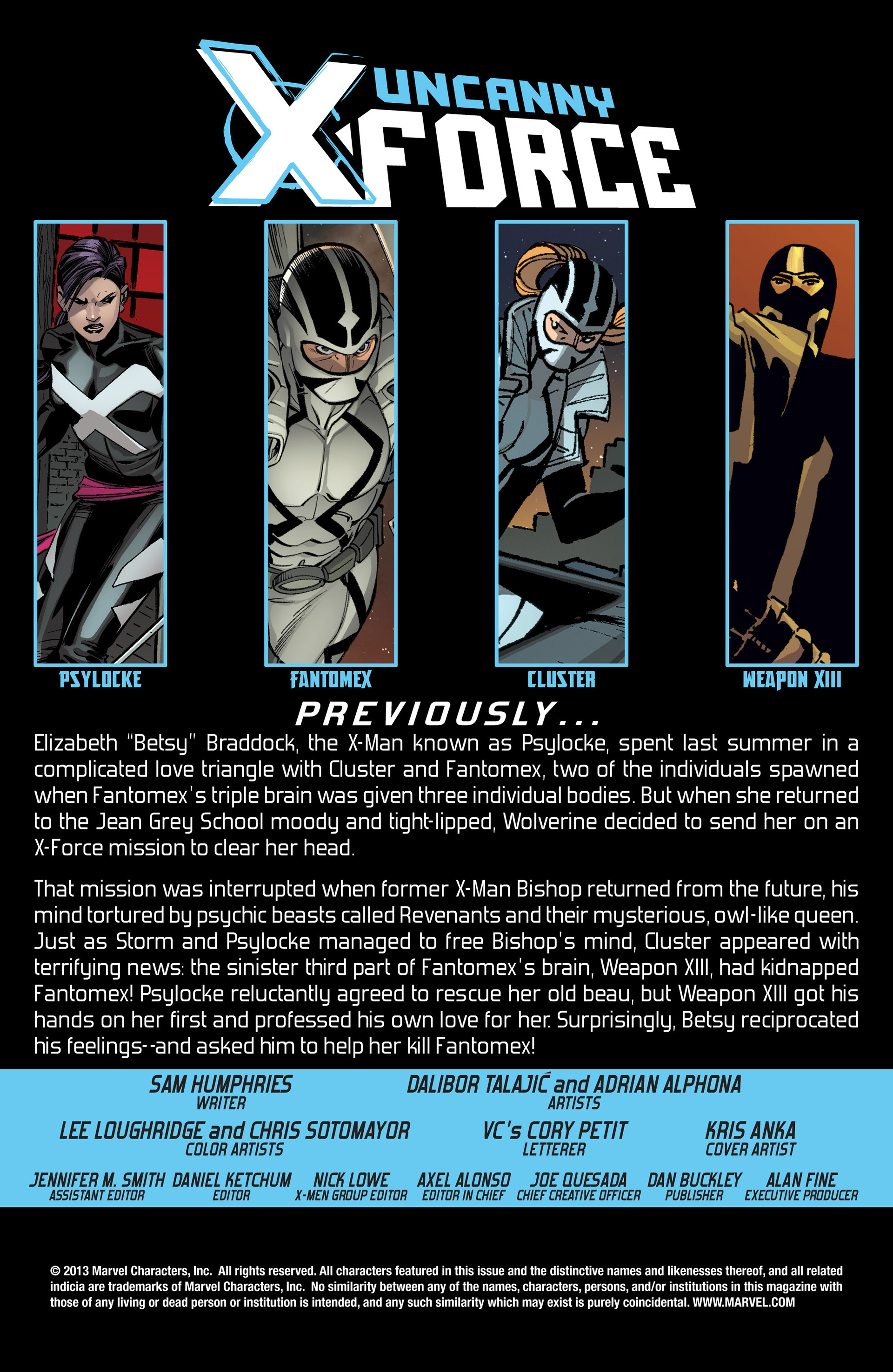 Read online Uncanny X-Force (2013) comic -  Issue #9 - 2
