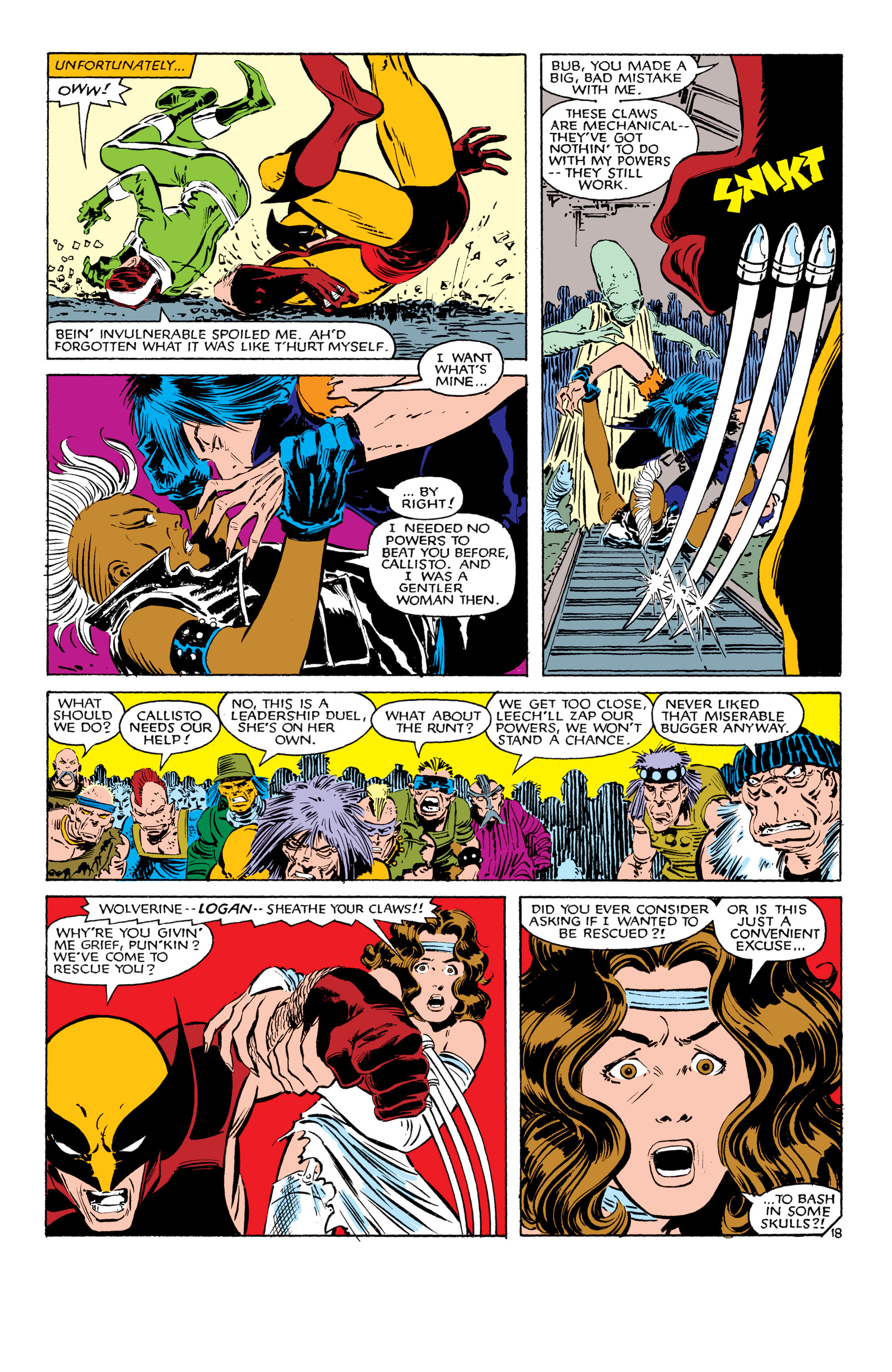 Read online Uncanny X-Men (1963) comic -  Issue #179 - 19