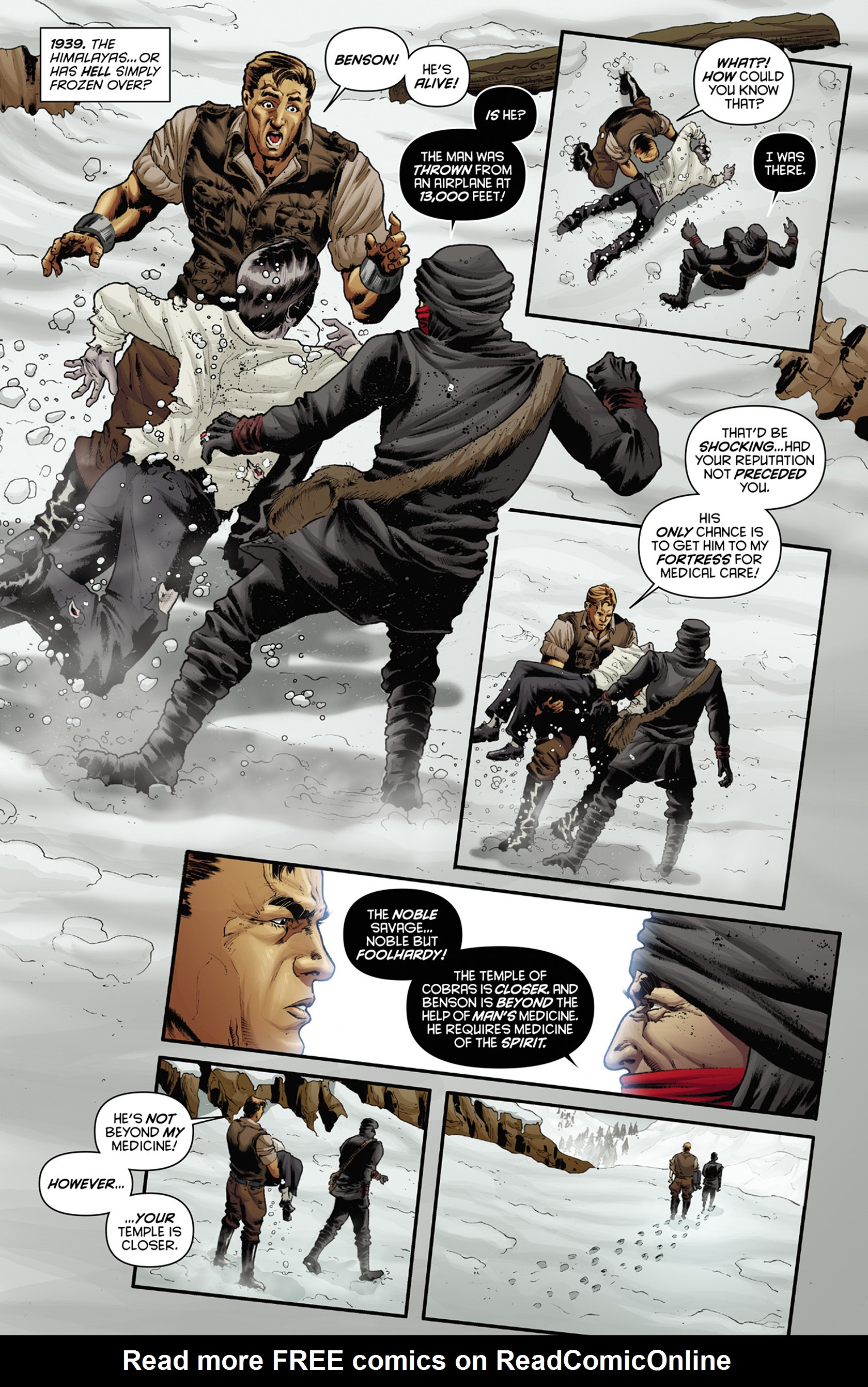 Read online Justice, Inc. comic -  Issue #3 - 6