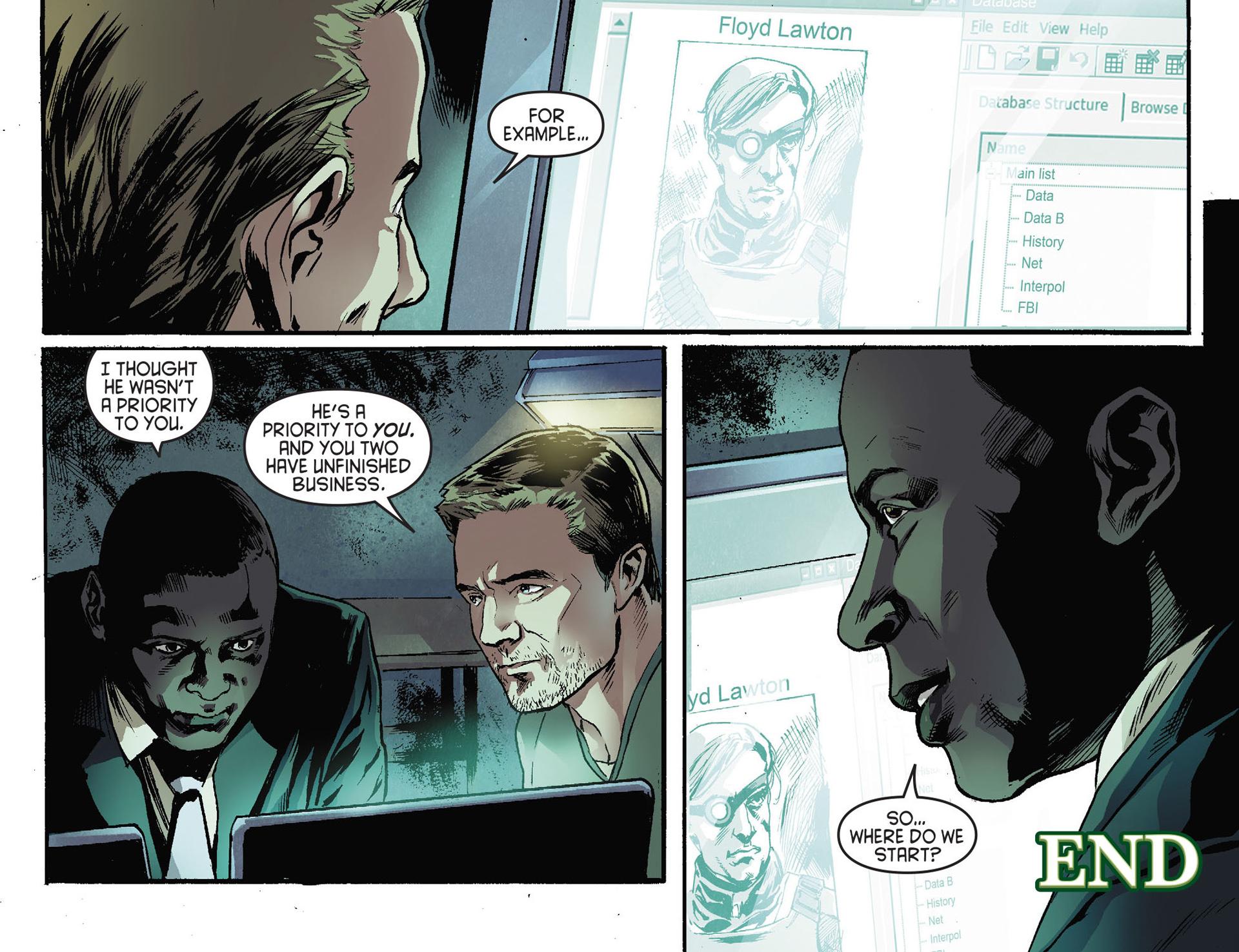 Read online Arrow [II] comic -  Issue #28 - 22