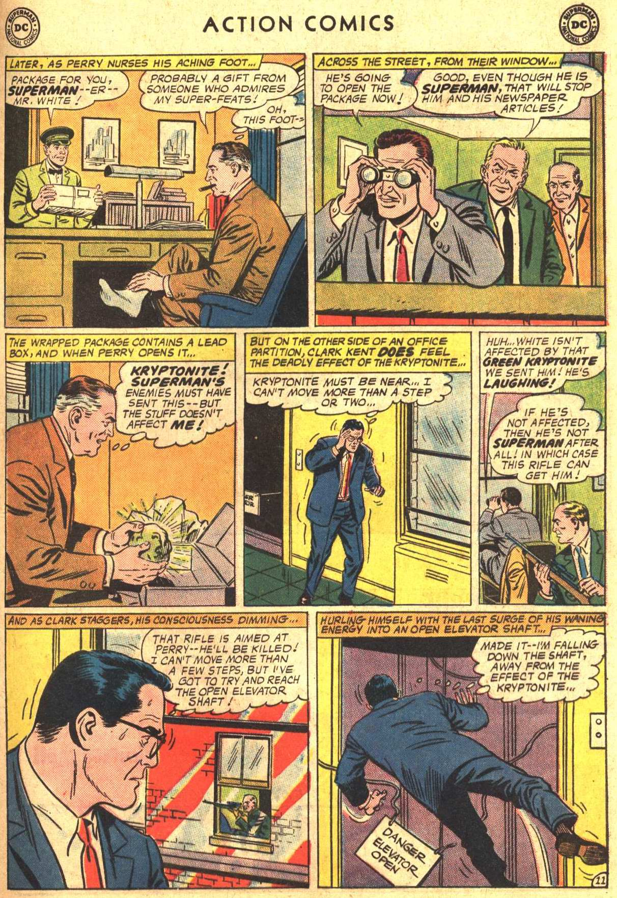 Read online Action Comics (1938) comic -  Issue #302 - 12