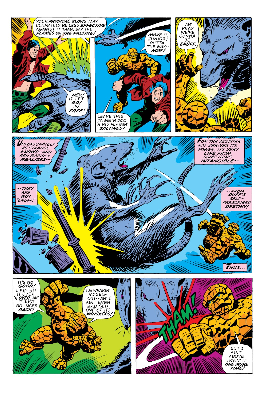 Read online Marvel Two-In-One Epic Collection: Cry Monster comic -  Issue # TPB (Part 2) - 58
