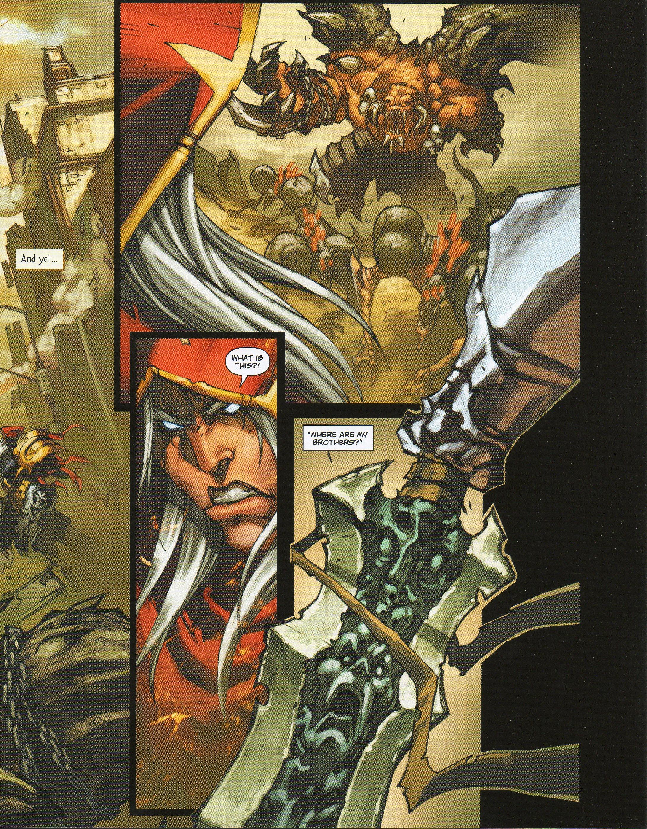 Read online Darksiders comic -  Issue # Full - 7