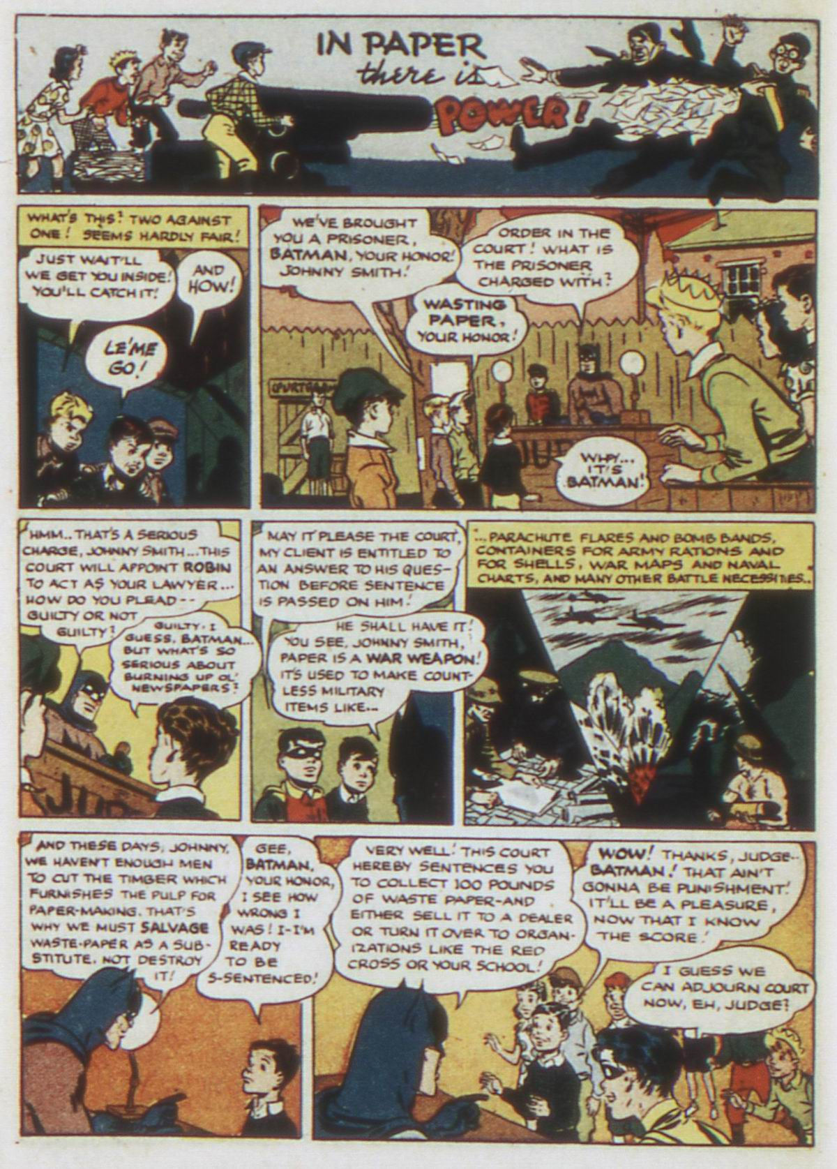 Read online Detective Comics (1937) comic -  Issue #87 - 16