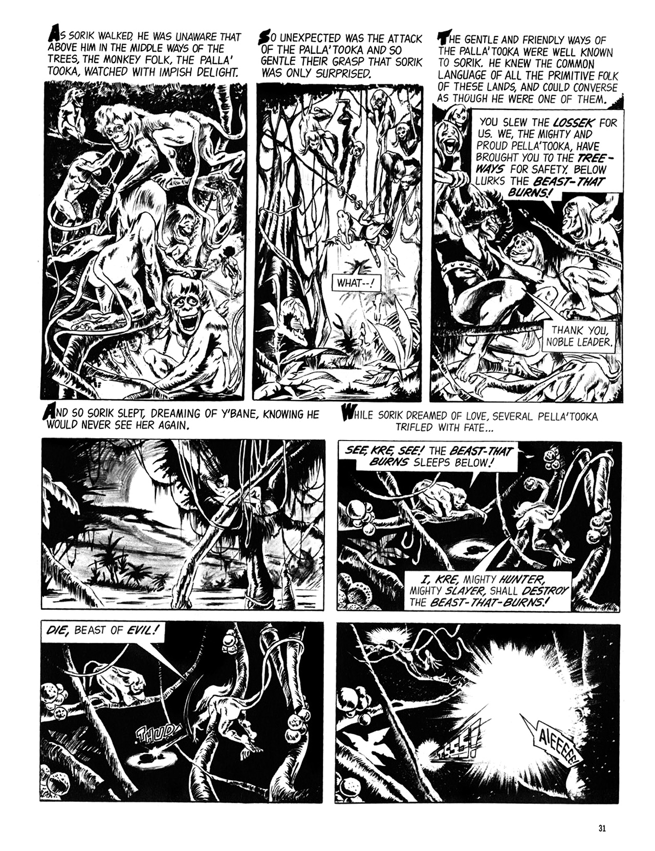 Read online Eerie Archives comic -  Issue # TPB 6 - 32