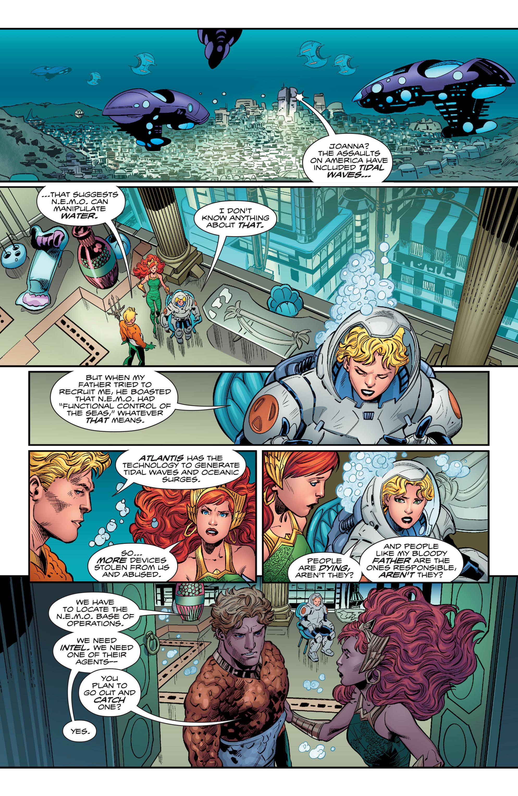 Read online Aquaman (2016) comic -  Issue #12 - 15
