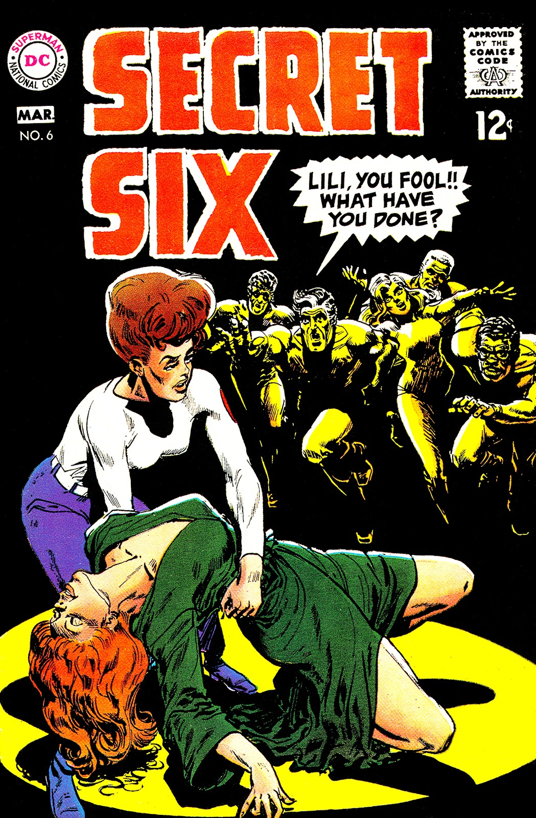 Secret Six (1968) issue 6 - Page 1