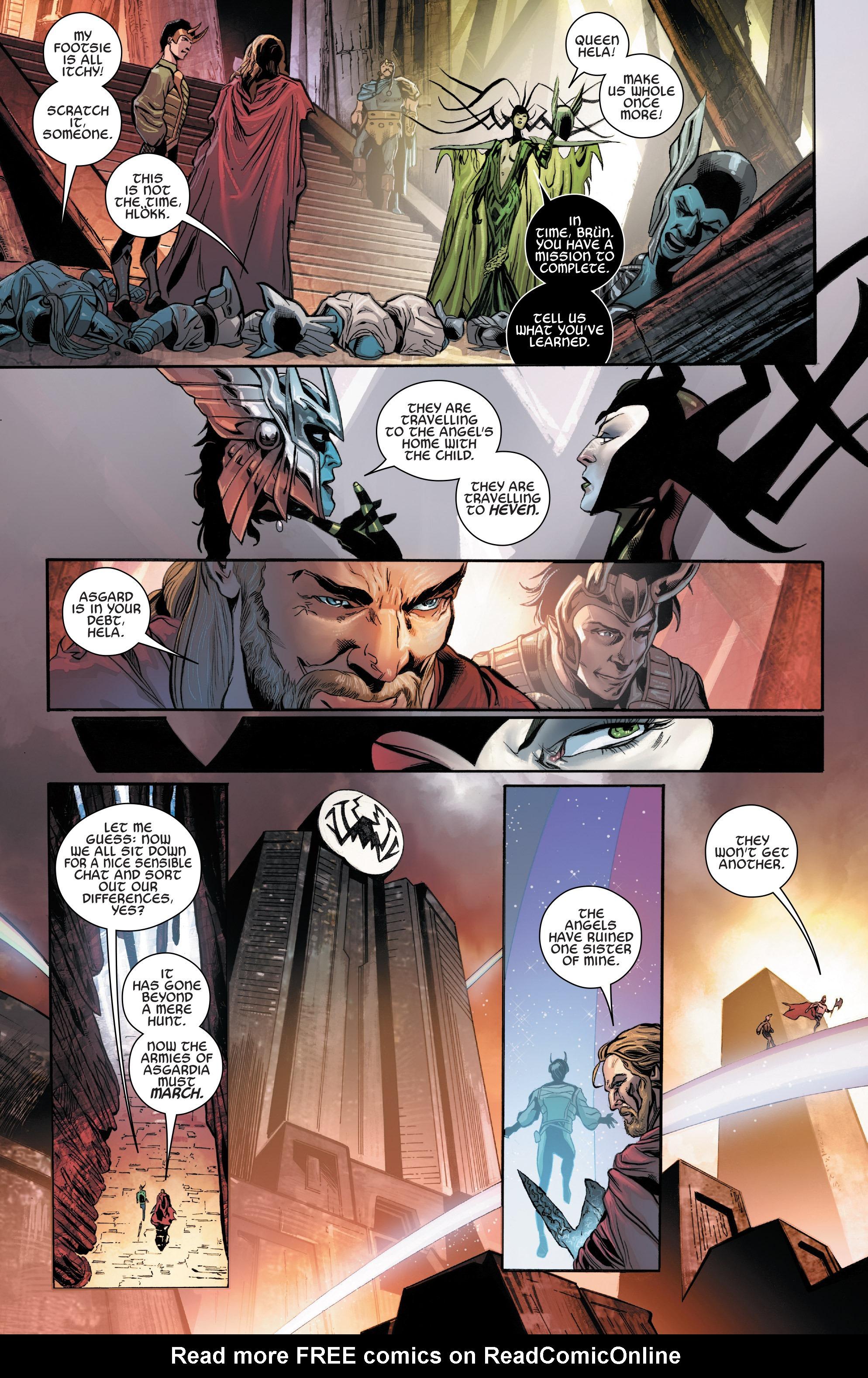 Read online Angela: Asgard's Assassin comic -  Issue #5 - 6