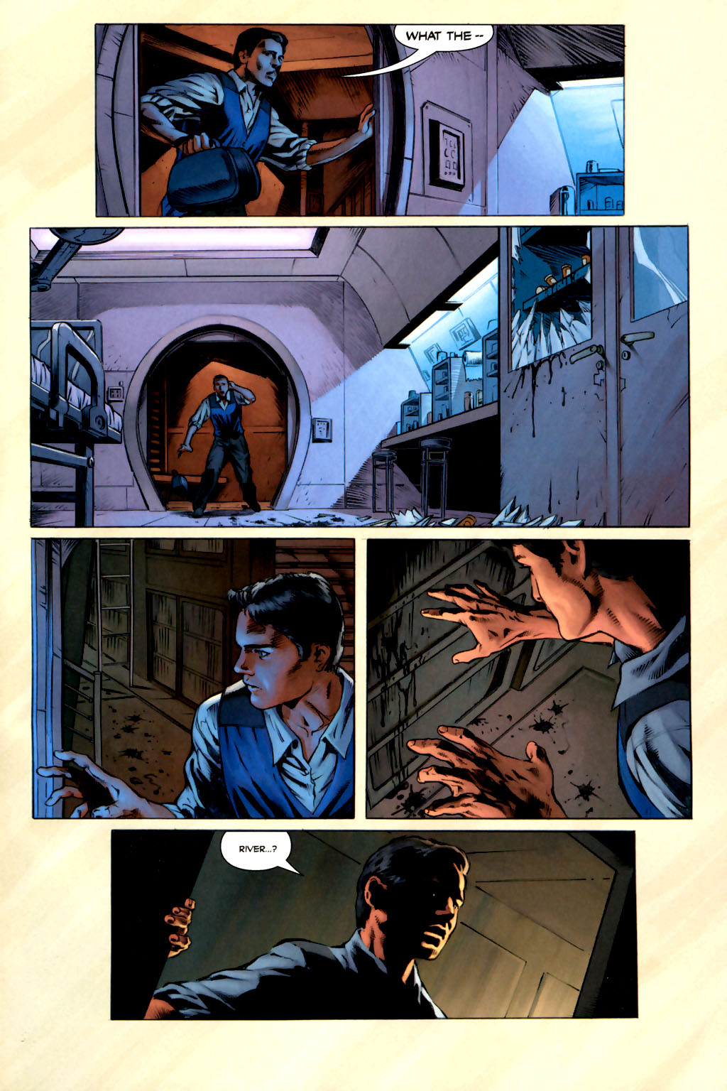 Read online Serenity comic -  Issue #3 - 7