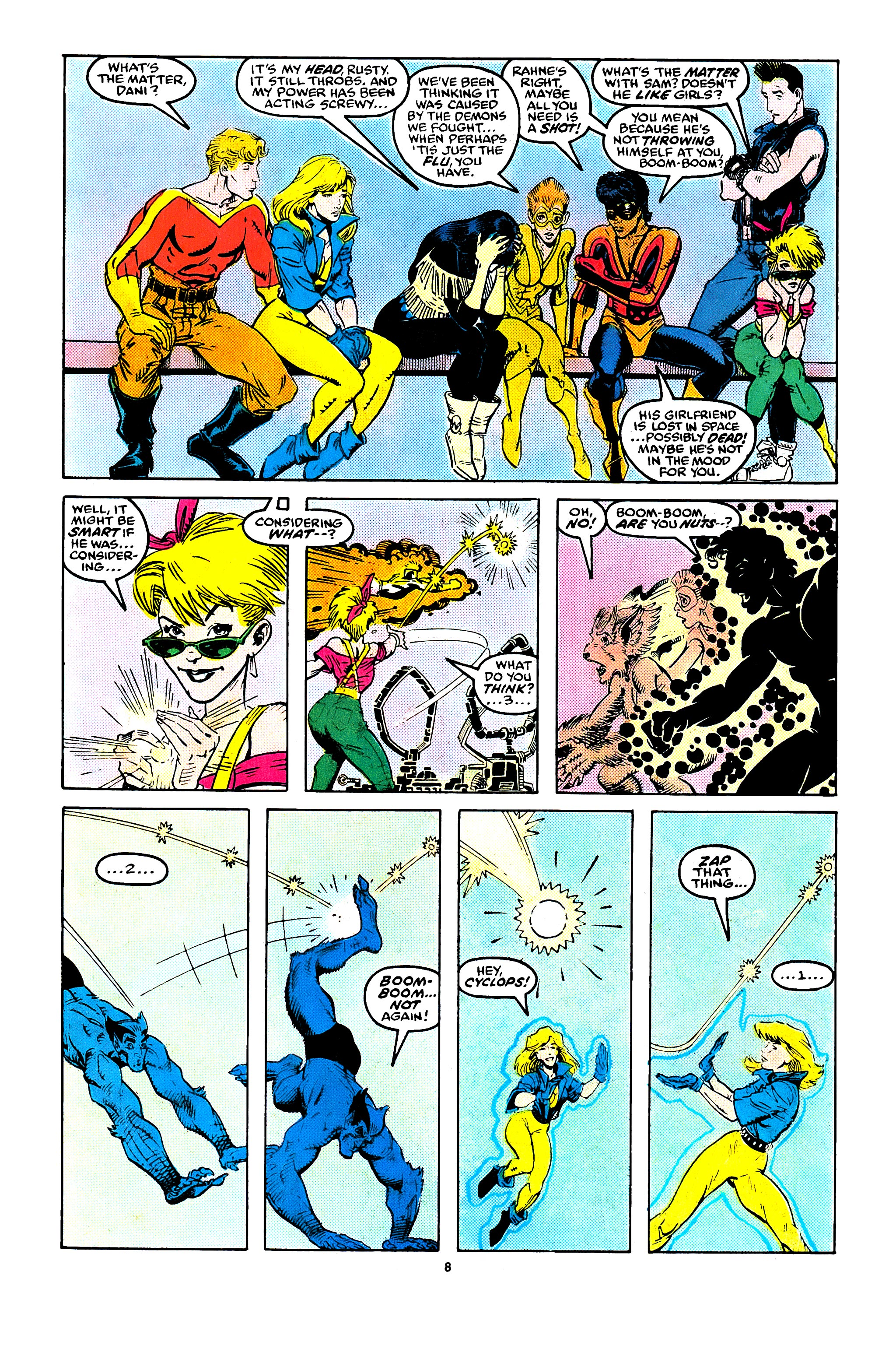Read online X-Factor (1986) comic -  Issue #41 - 7