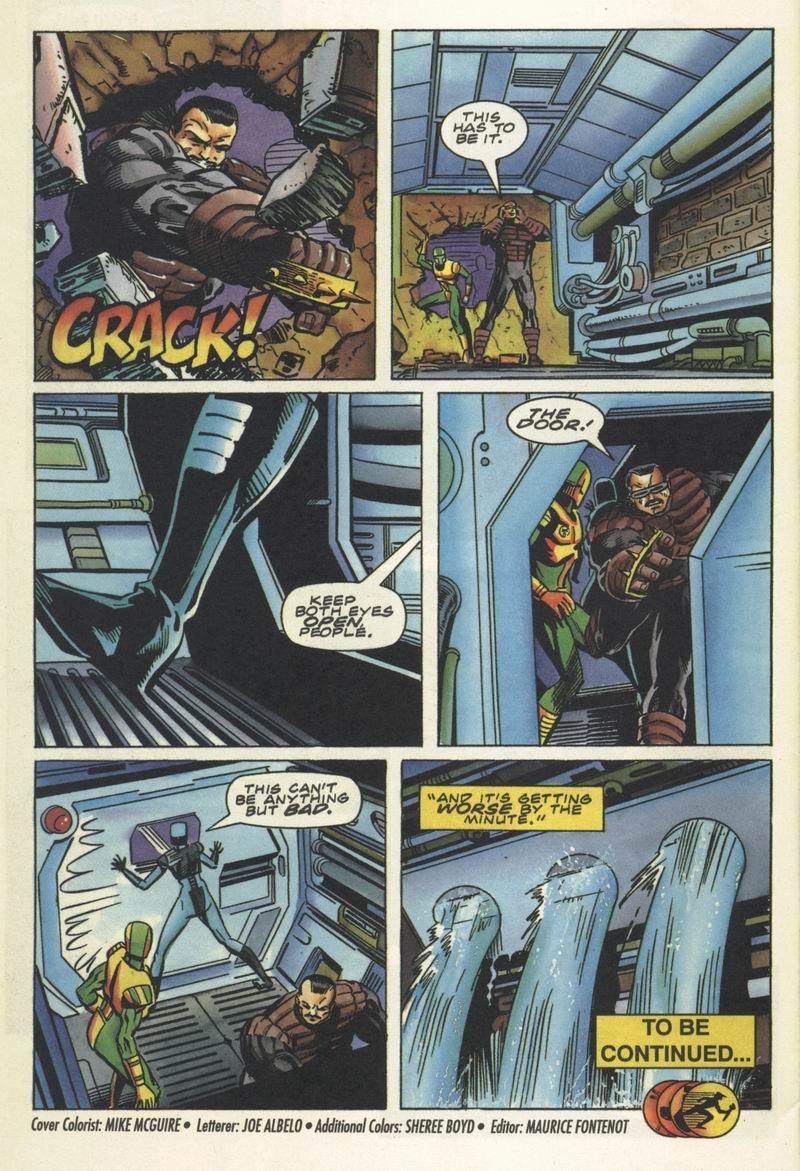 Read online Secret Weapons comic -  Issue #16 - 22
