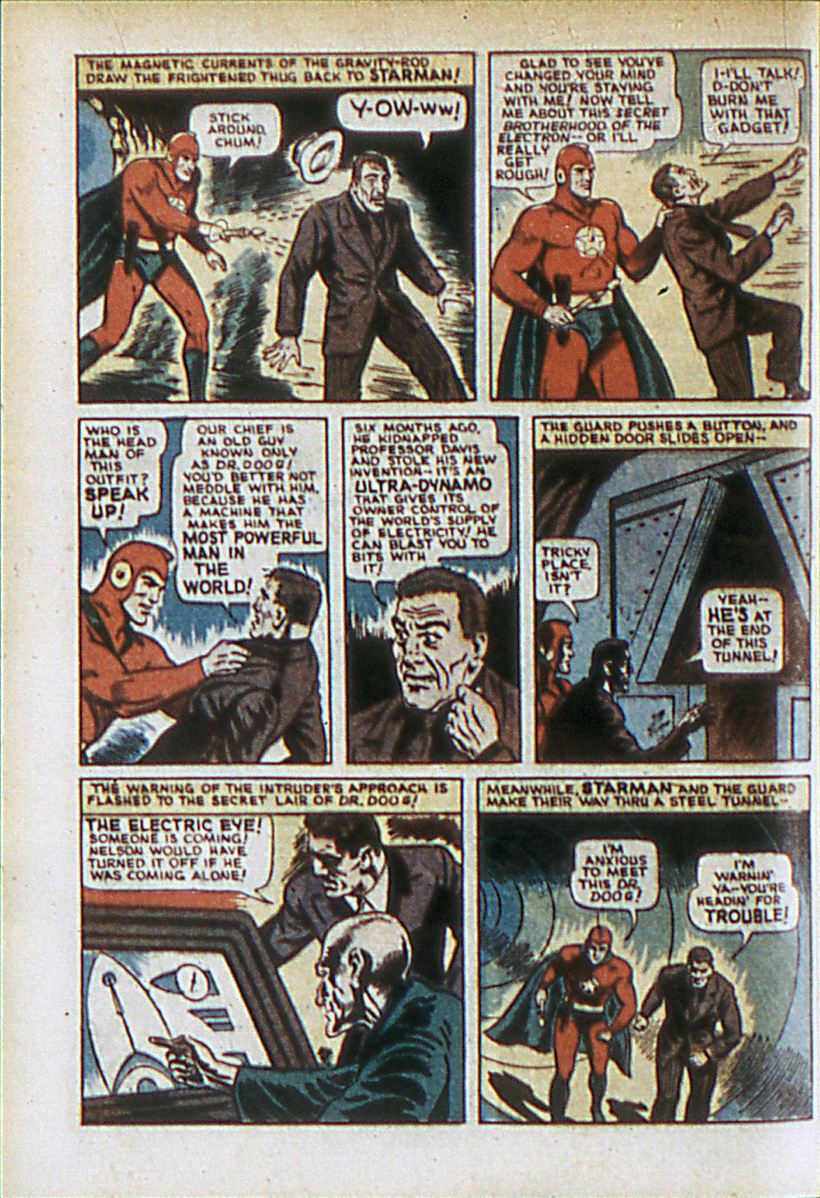 Read online Adventure Comics (1938) comic -  Issue #61 - 9