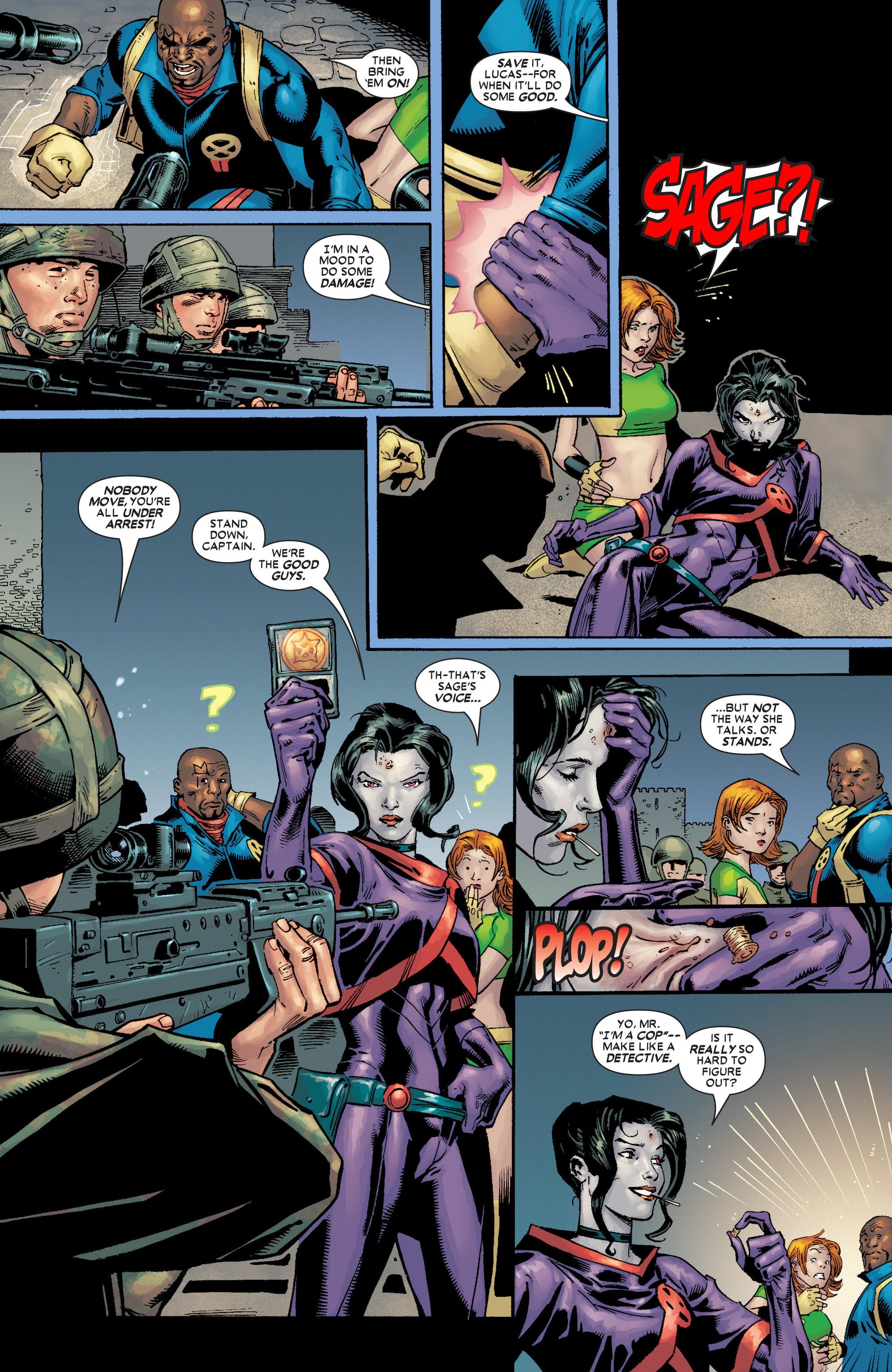 Read online Uncanny X-Men (1963) comic -  Issue #449 - 8