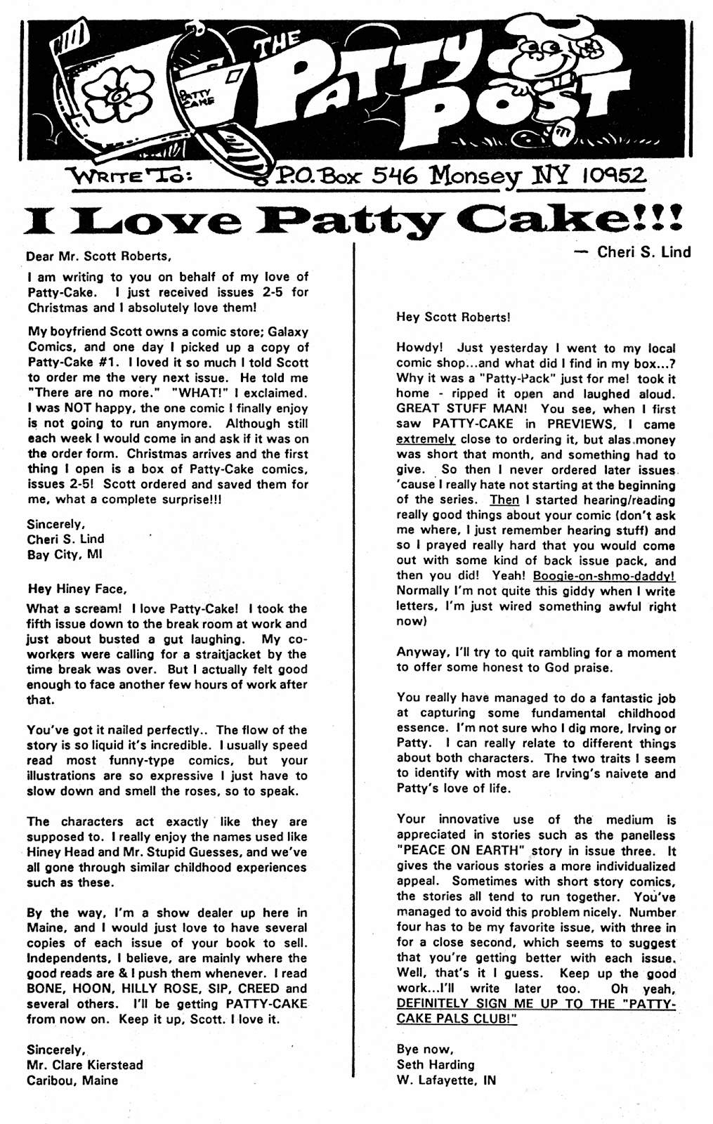 Read online Patty Cake comic -  Issue #9 - 34