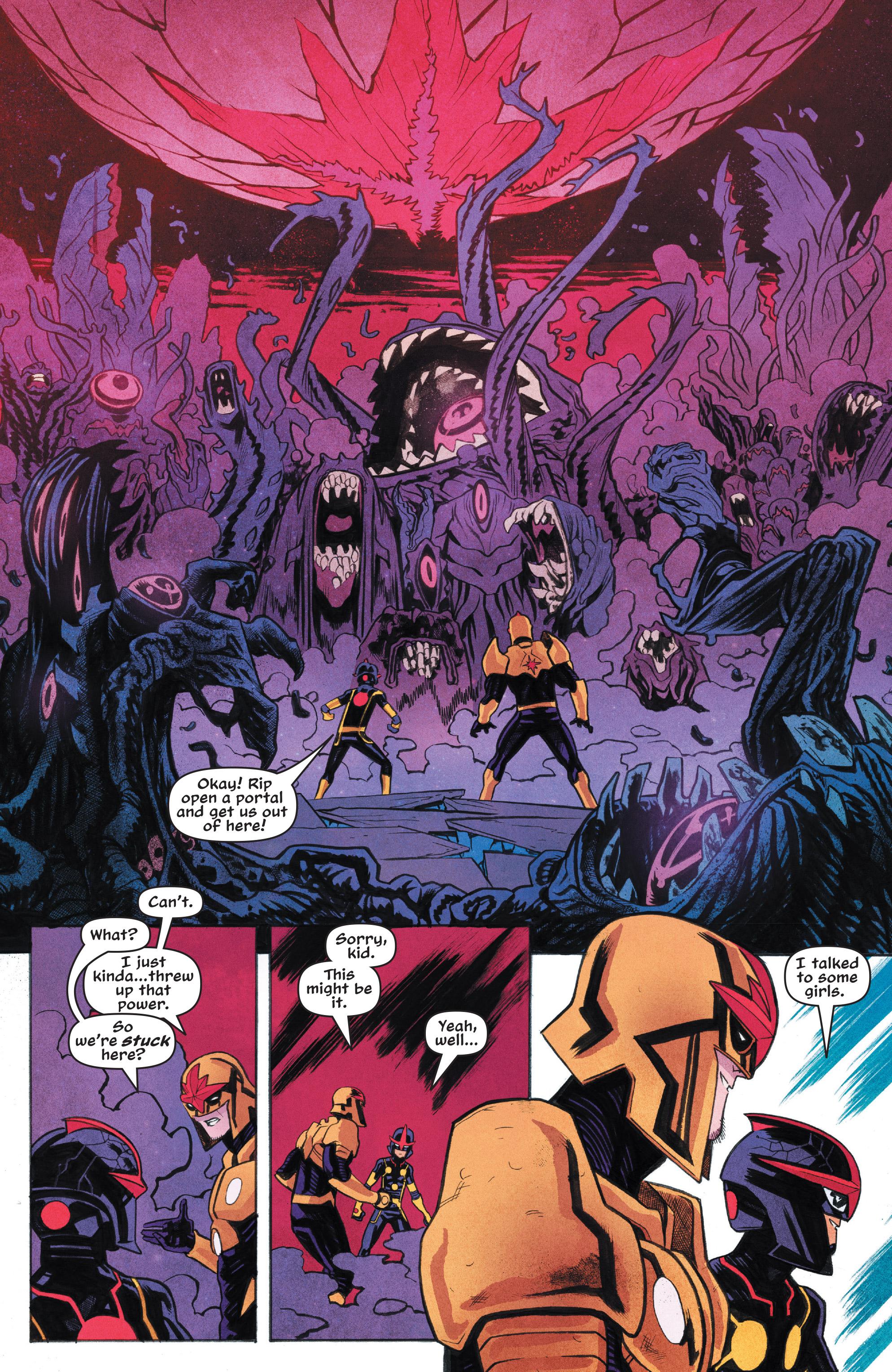 Read online Nova (2017) comic -  Issue #7 - 11