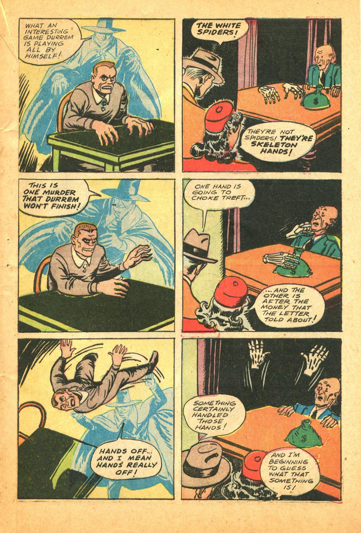 Read online Shadow Comics comic -  Issue #38 - 57