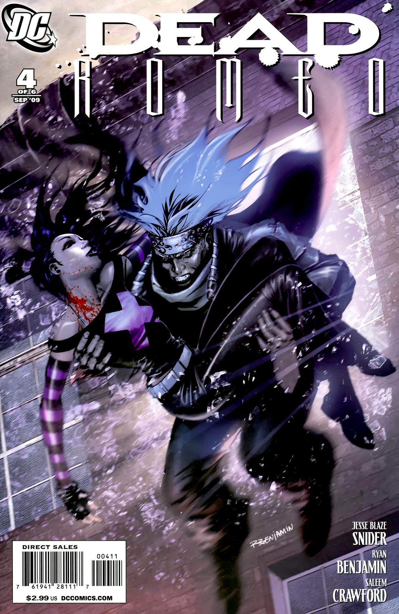 Read online Dead Romeo comic -  Issue #4 - 1