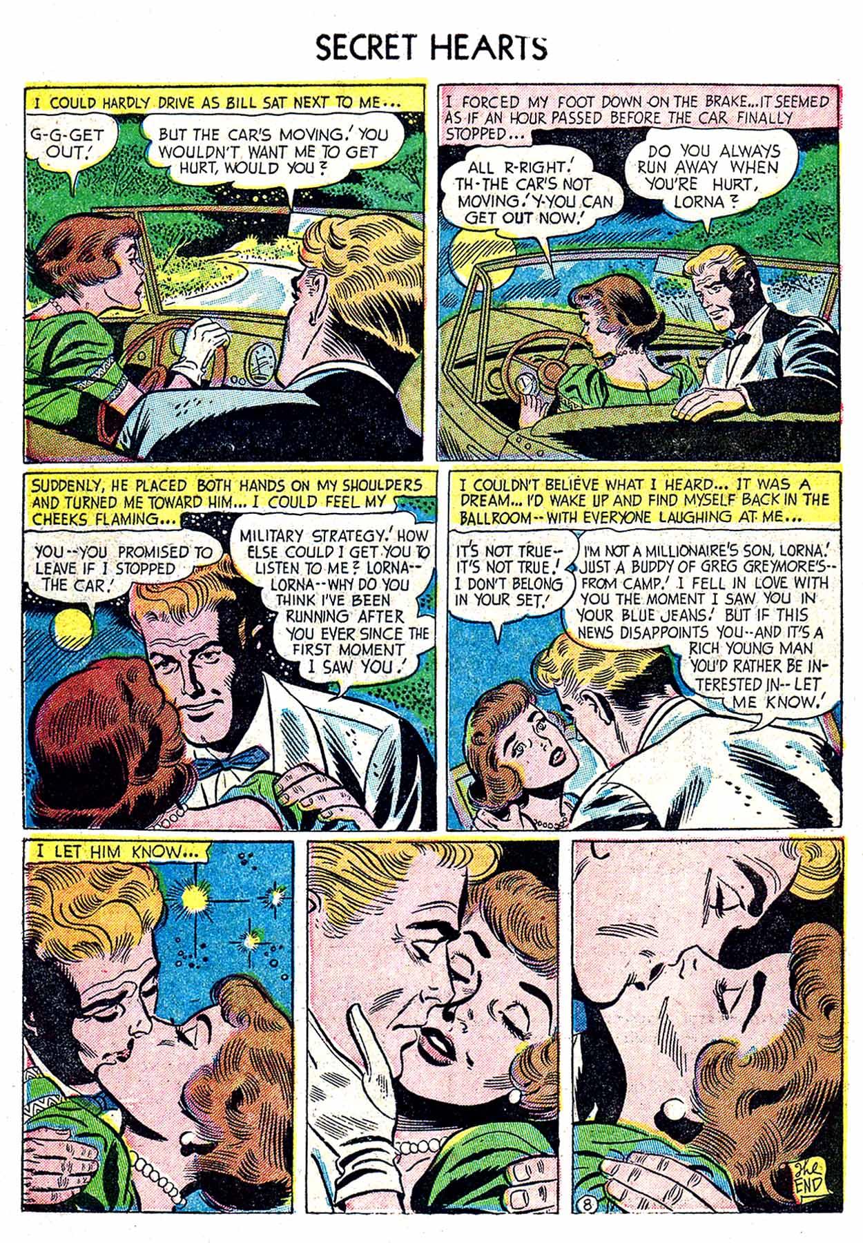 Read online Secret Hearts comic -  Issue #19 - 34