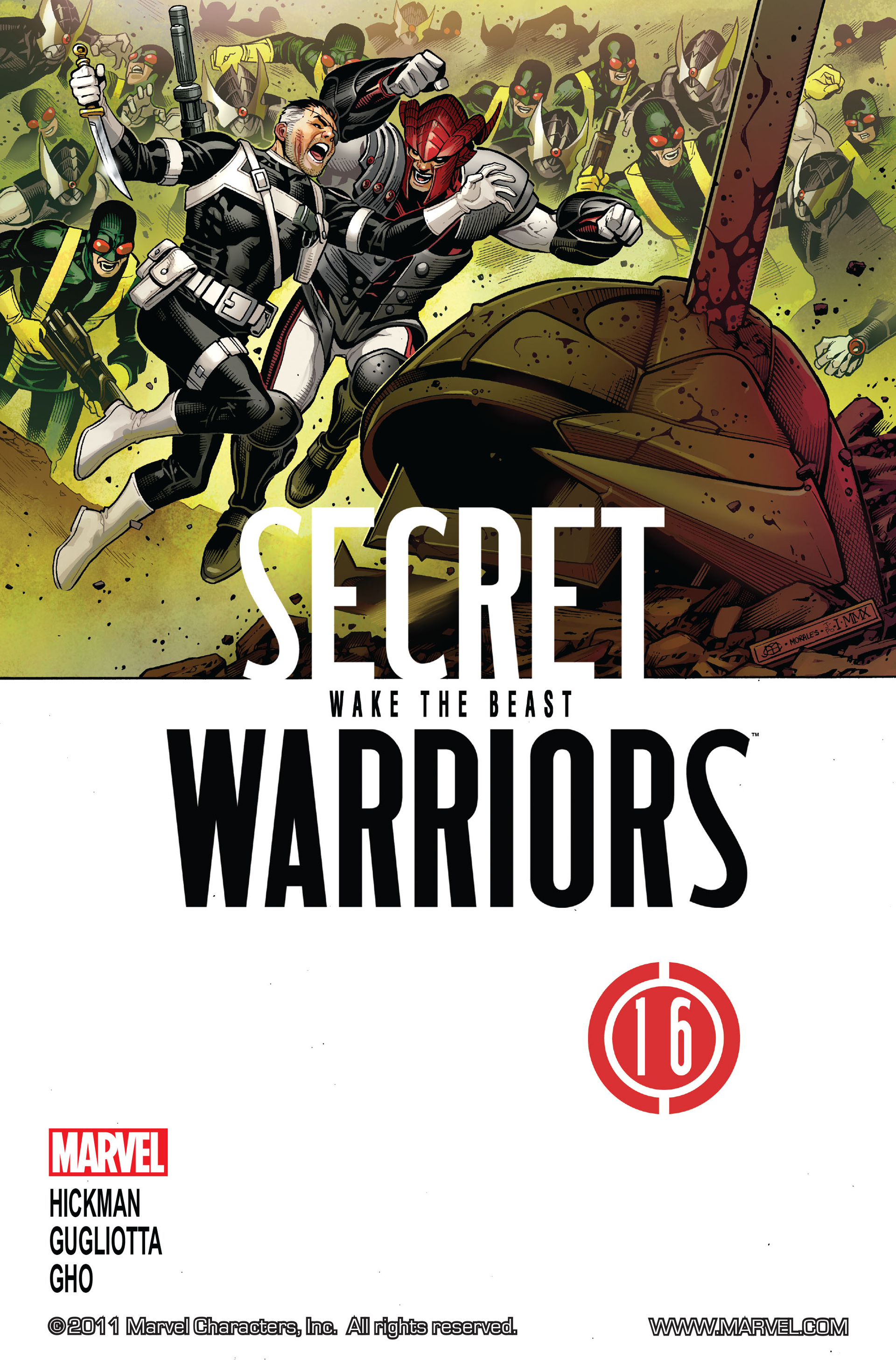 Read online Secret Warriors comic -  Issue #16 - 2
