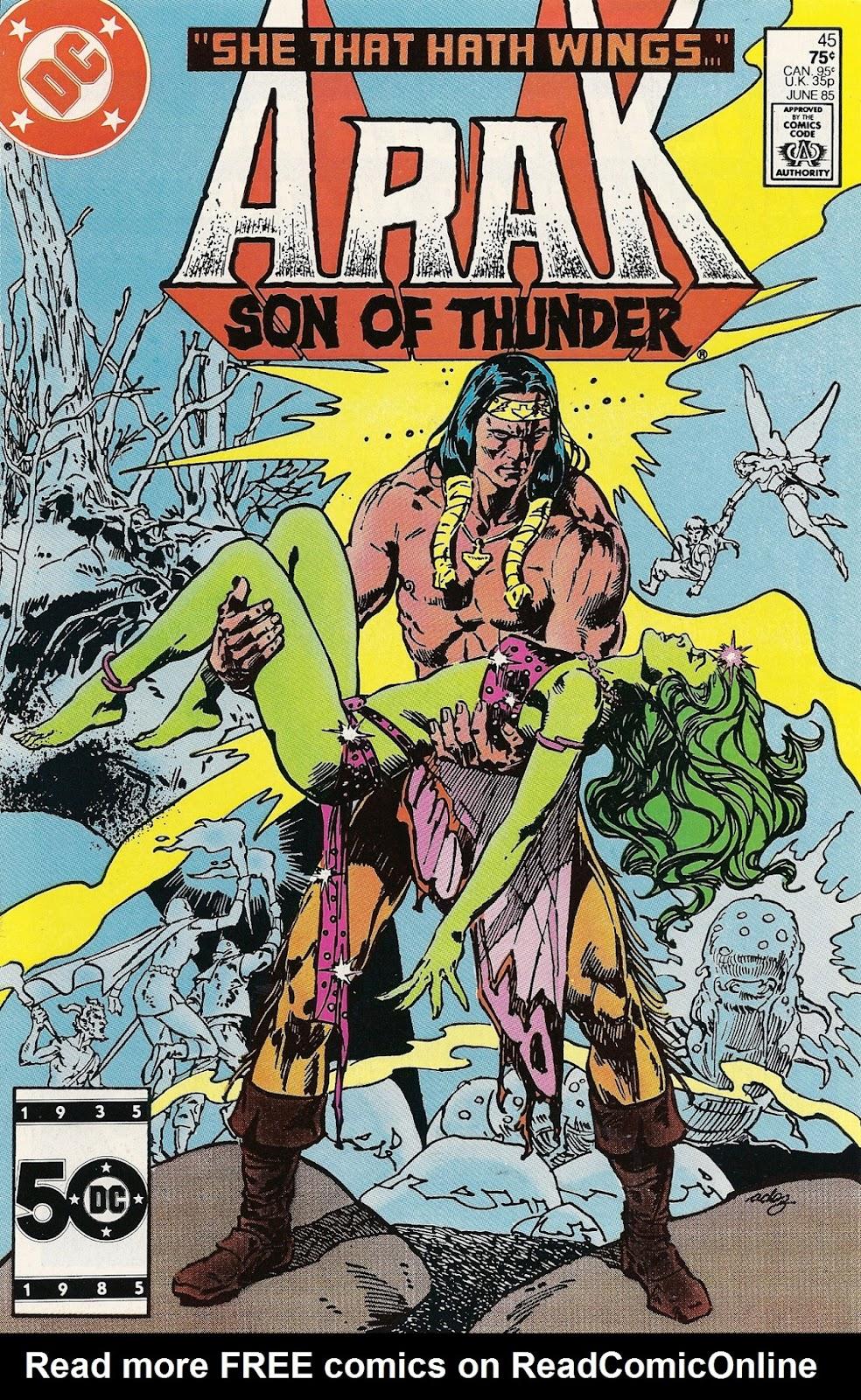 Arak Son of Thunder 45 Page 1