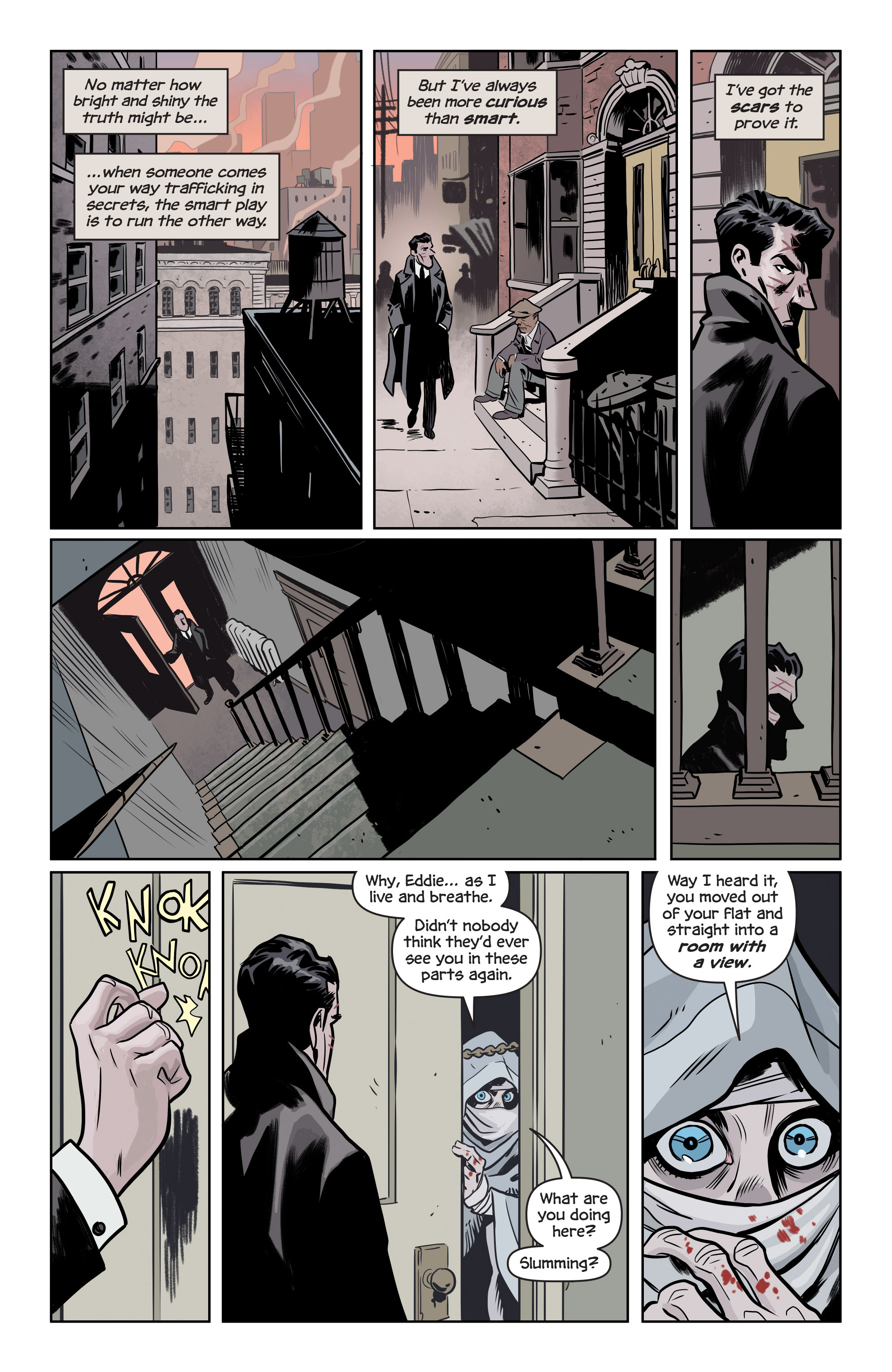 Read online The Damned comic -  Issue #1 - 17
