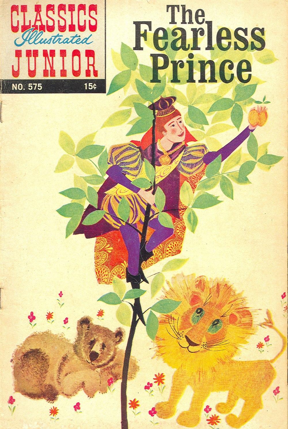 Classics Illustrated Junior 575 Page 1