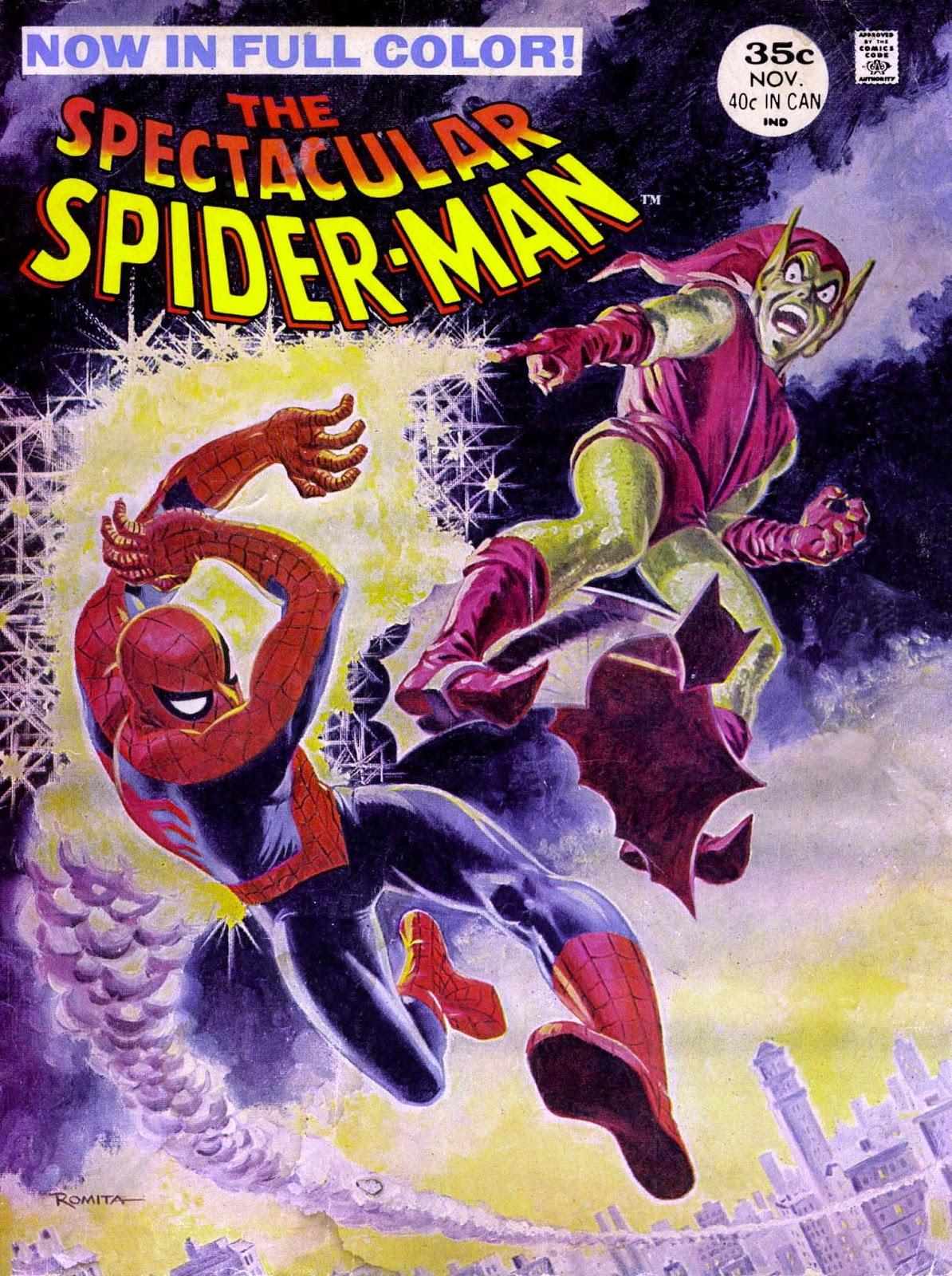 Spectacular Spider-Man Magazine issue 2 - Page 1
