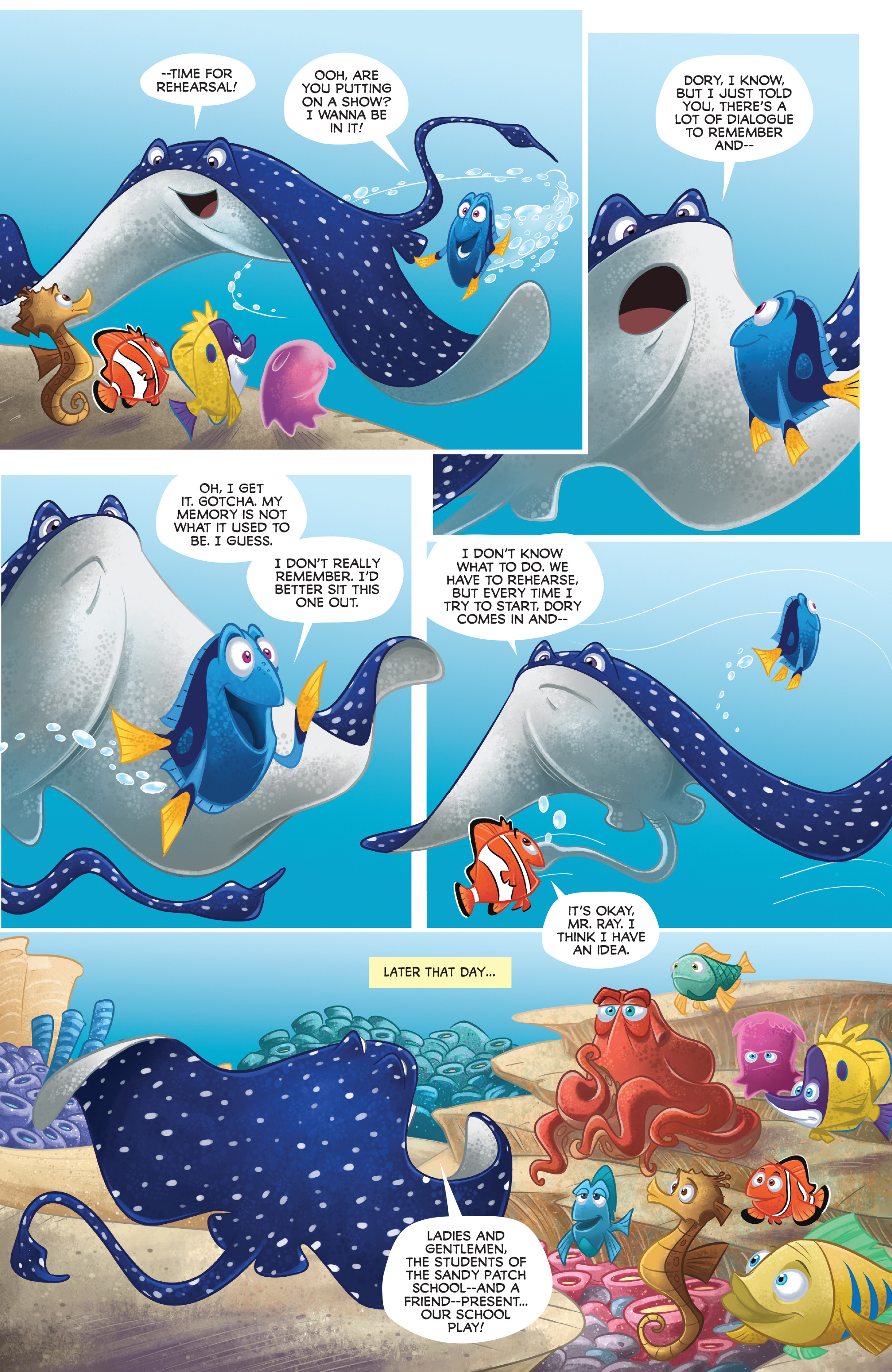 Read online Disney Pixar Finding Dory comic -  Issue #3 - 27