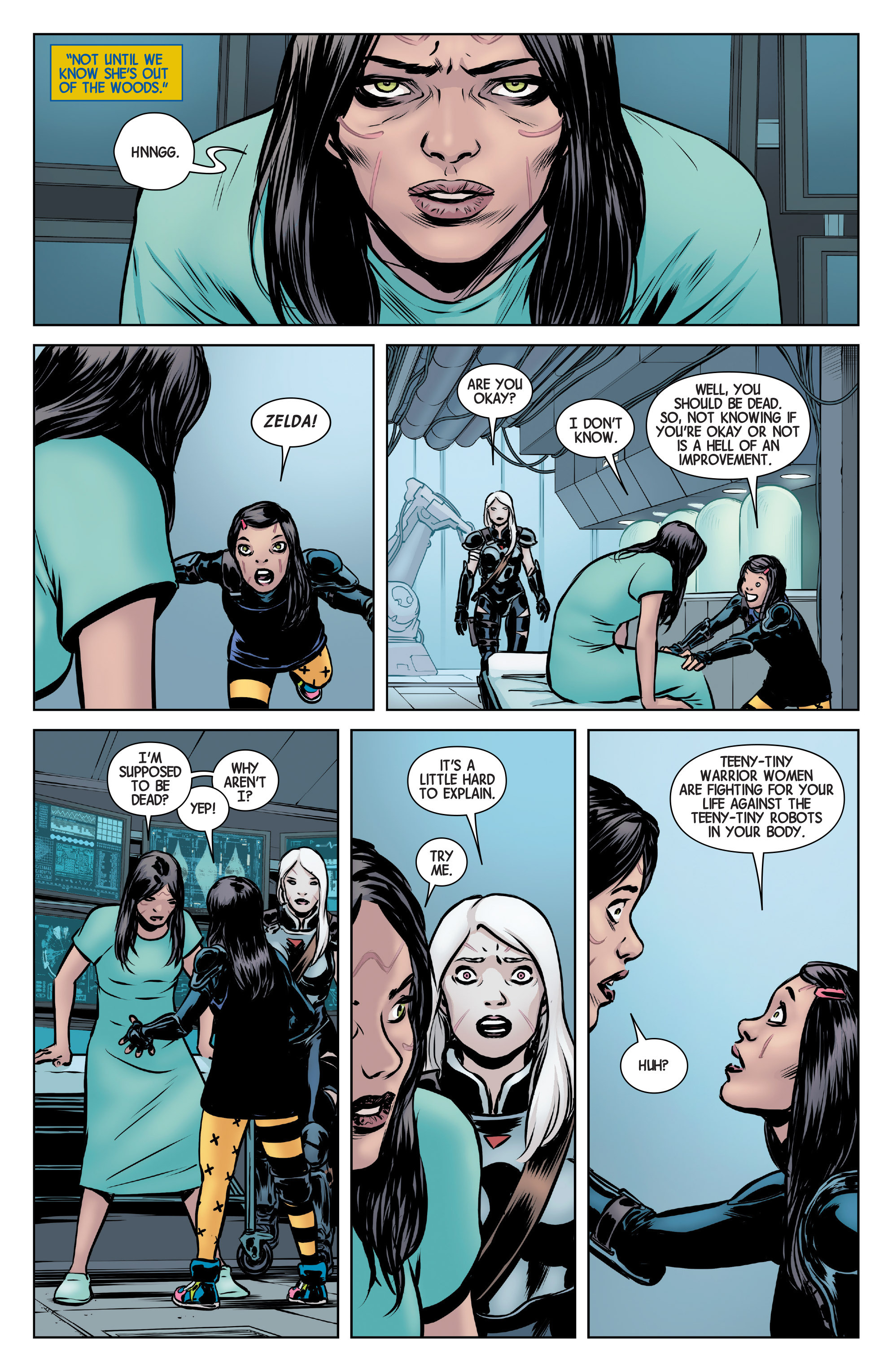 Read online All-New Wolverine (2016) comic -  Issue #5 - 12