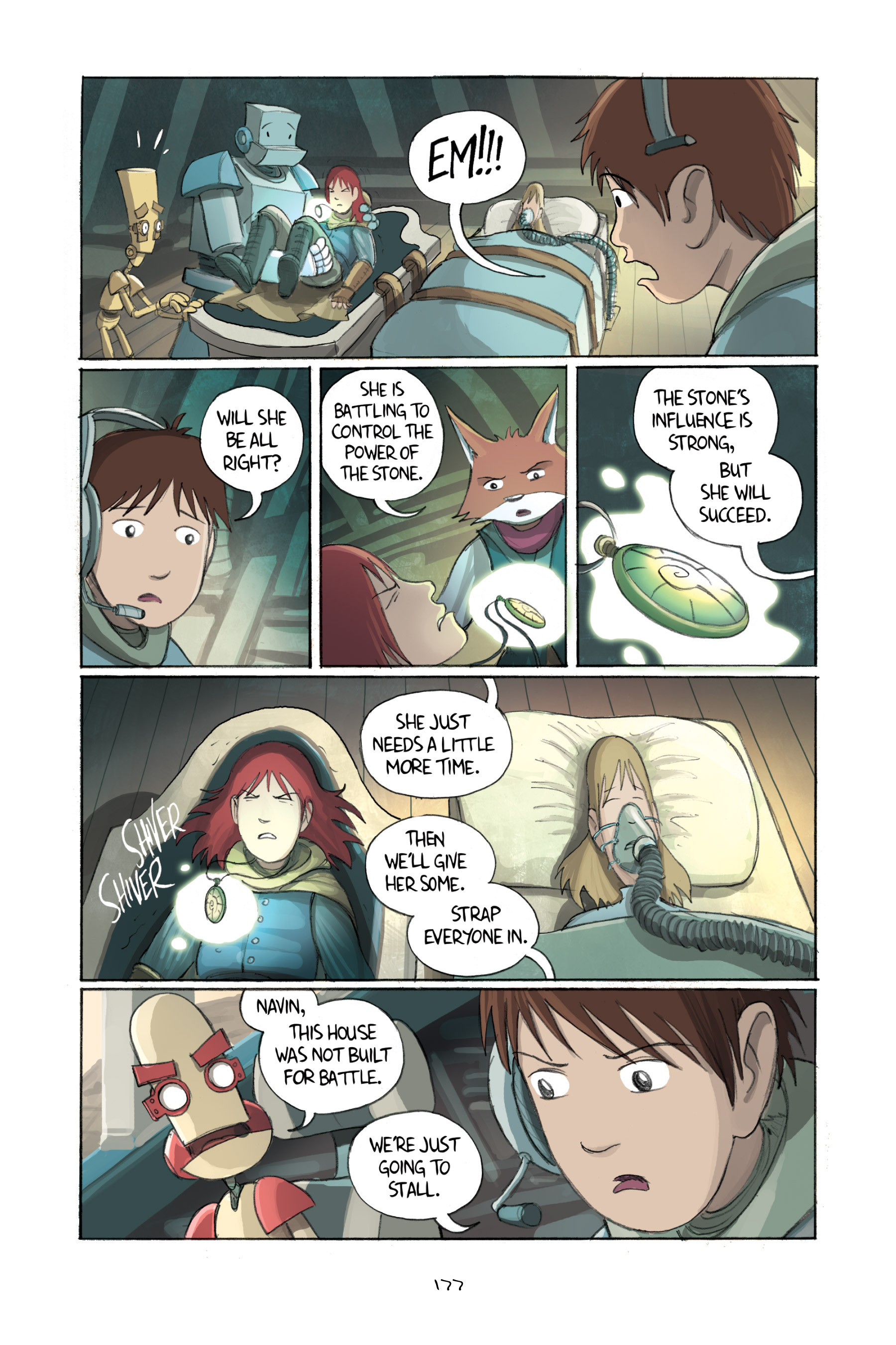 Read online Amulet comic -  Issue #2 - 176