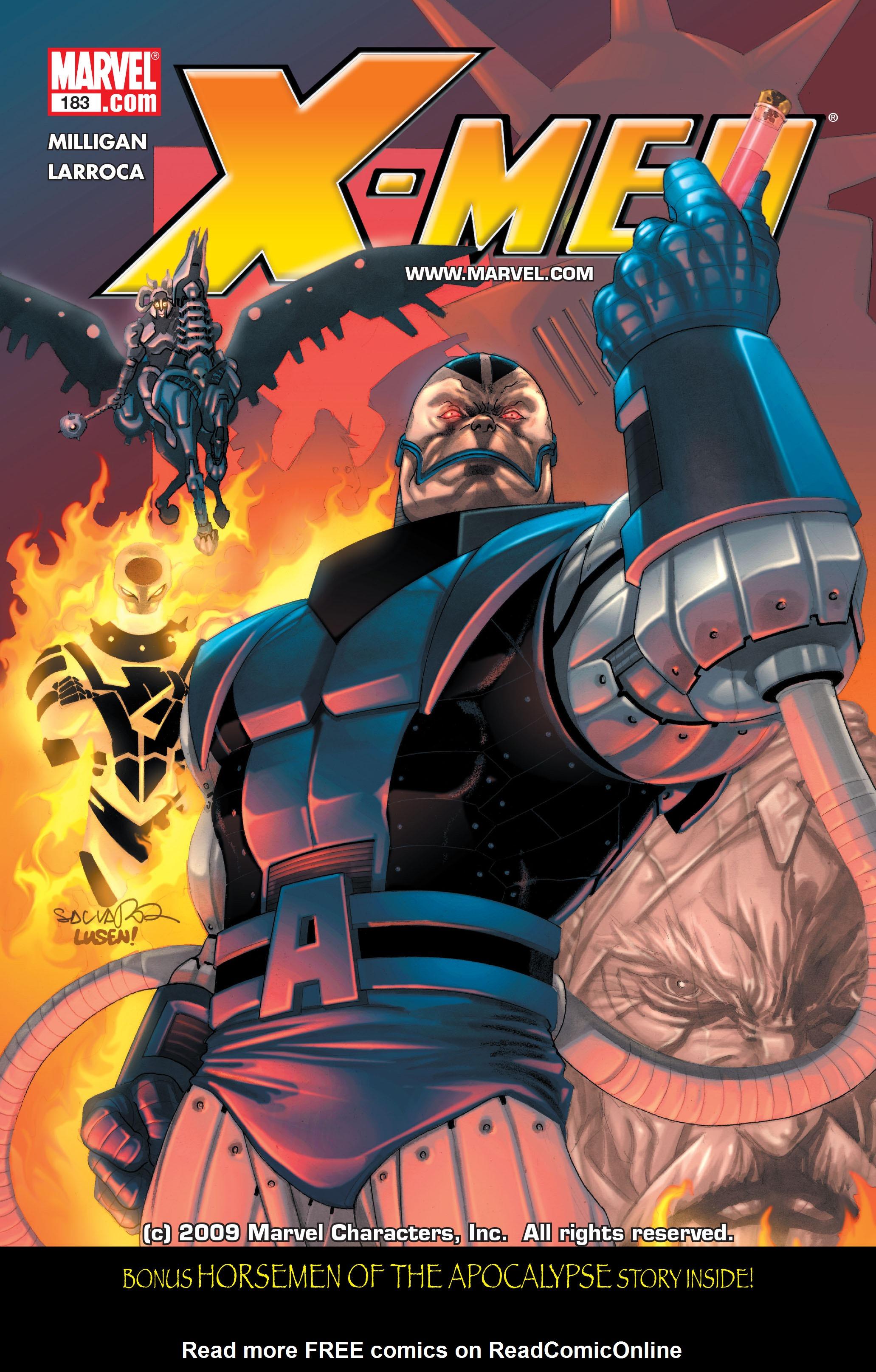 X-Men (1991) 183 Page 0
