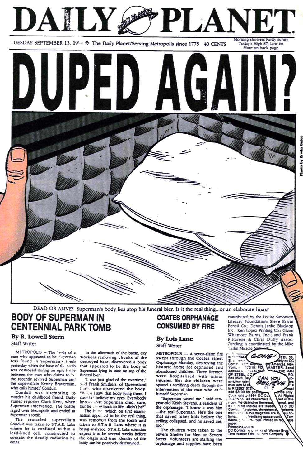 Read online Adventures of Superman (1987) comic -  Issue #519 - 21