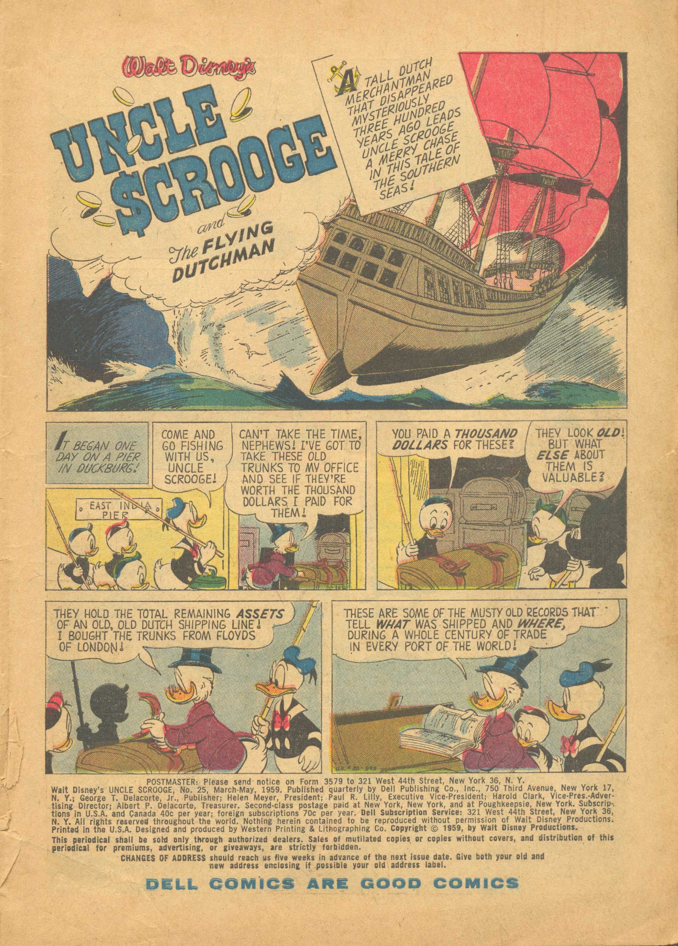 Read online Uncle Scrooge (1953) comic -  Issue #25 - 3
