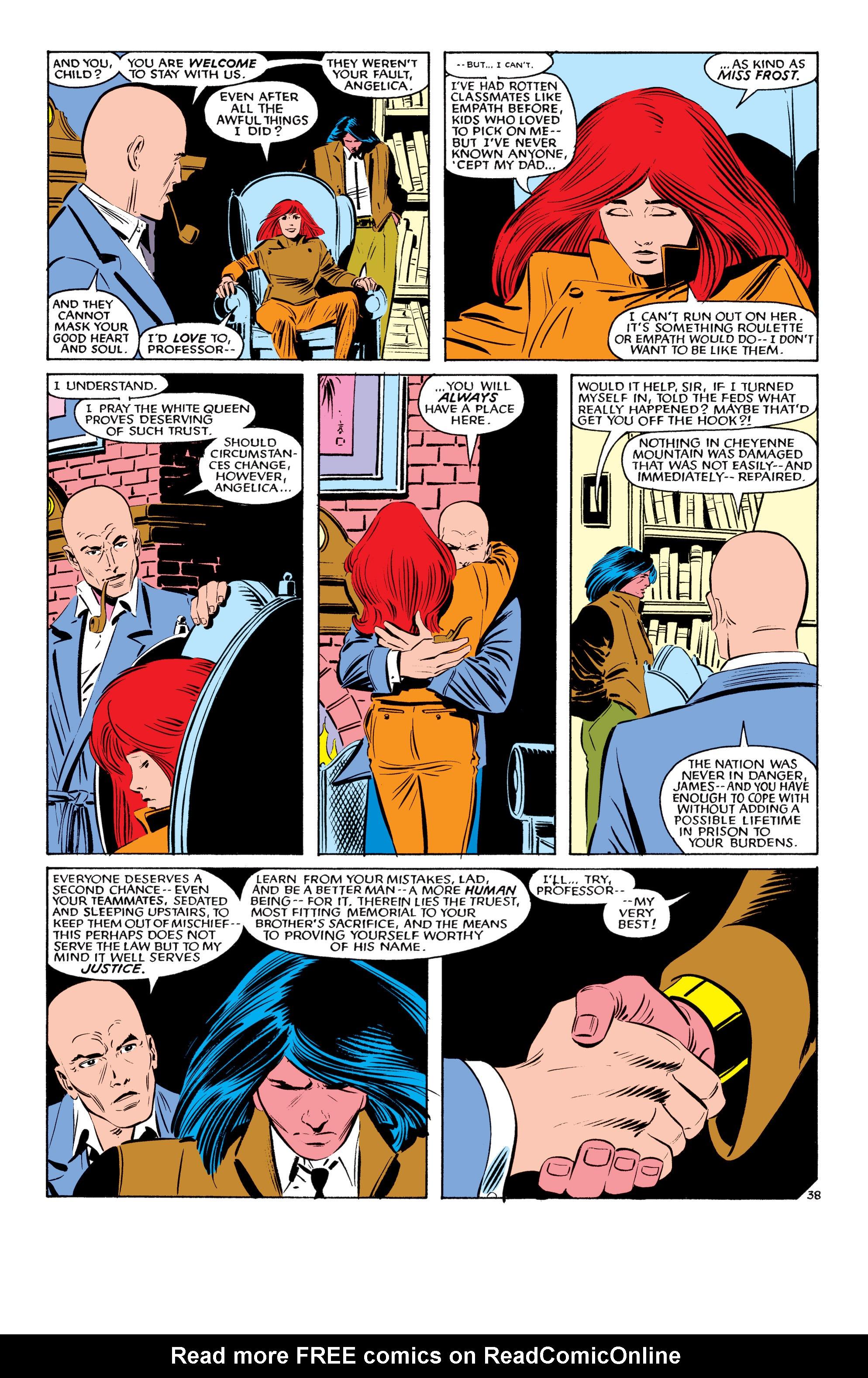 Read online Uncanny X-Men (1963) comic -  Issue #193 - 39