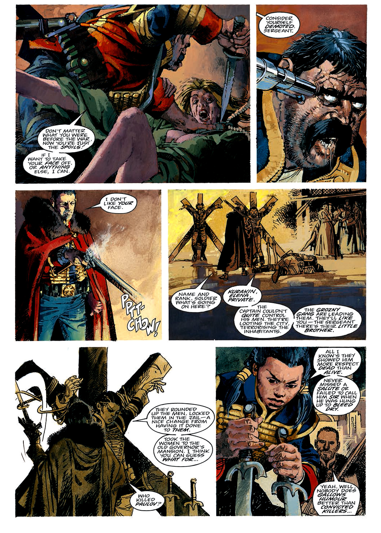 Read online Nikolai Dante comic -  Issue # TPB 4 - 19