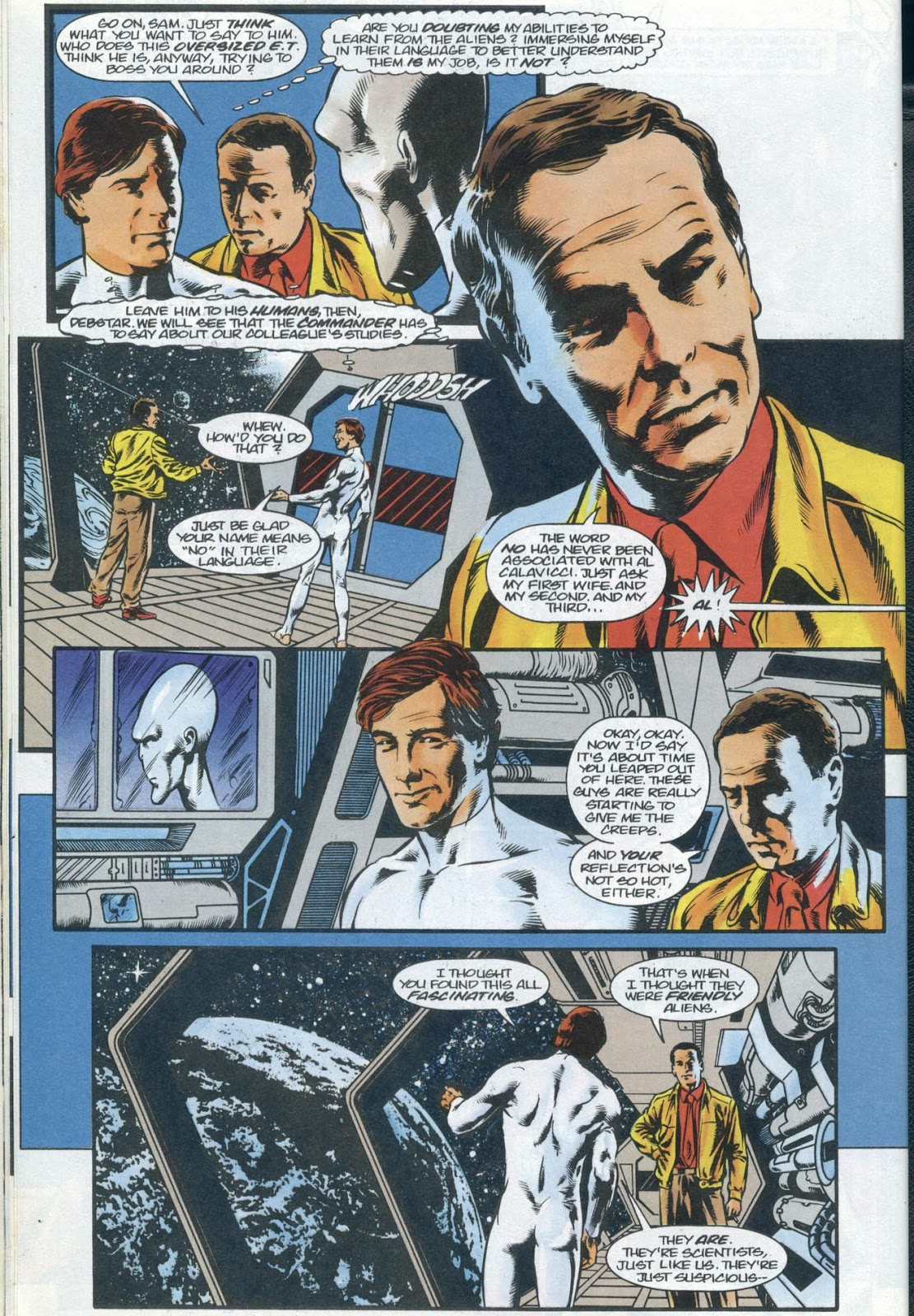 Read online Quantum Leap comic -  Issue #13 - 6