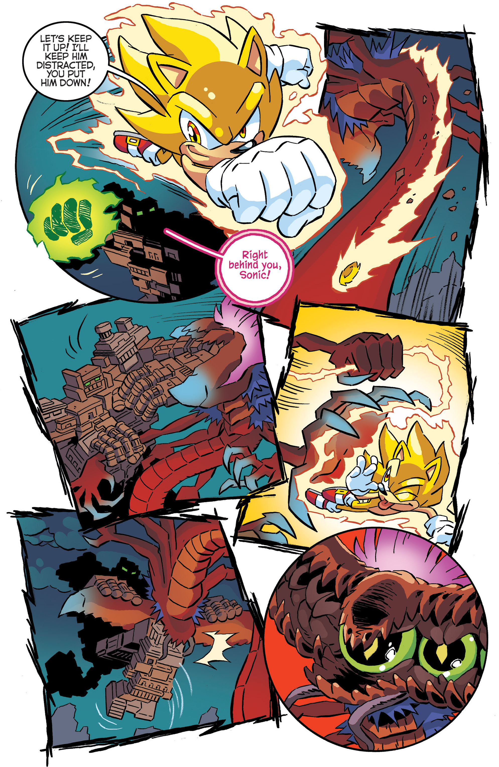 Read online Sonic The Hedgehog comic -  Issue #287 - 9