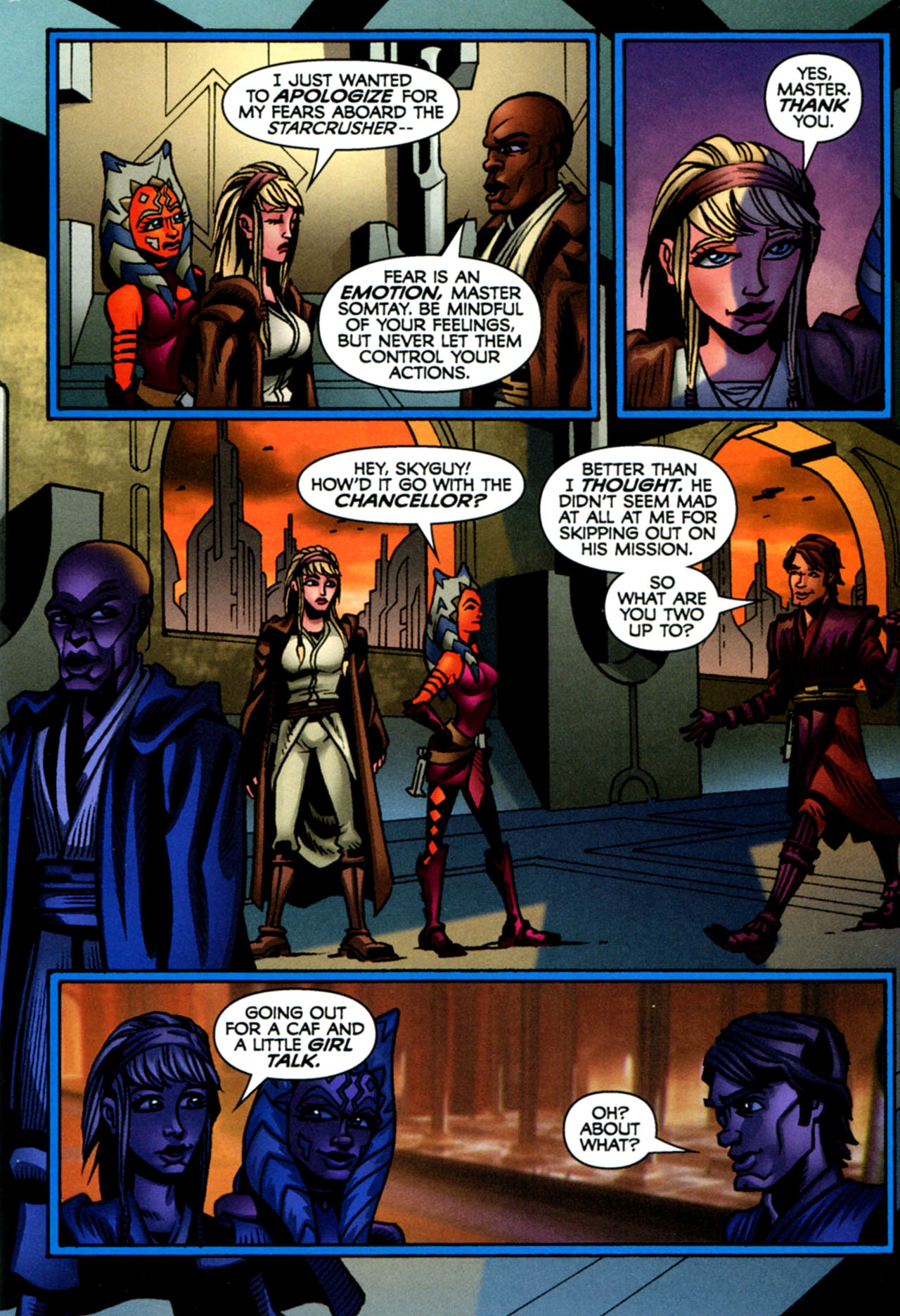Read online Star Wars: The Clone Wars - The Starcrusher Trap comic -  Issue # Full - 76