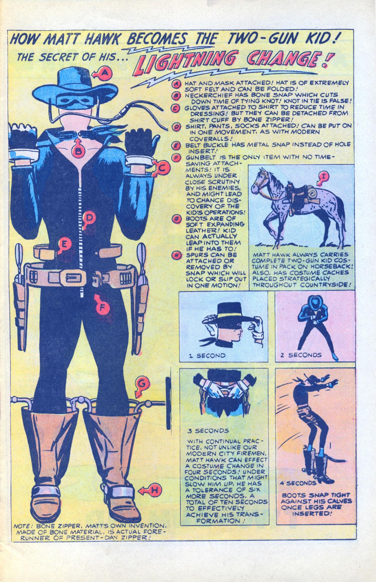 Read online Two-Gun Kid comic -  Issue #116 - 33